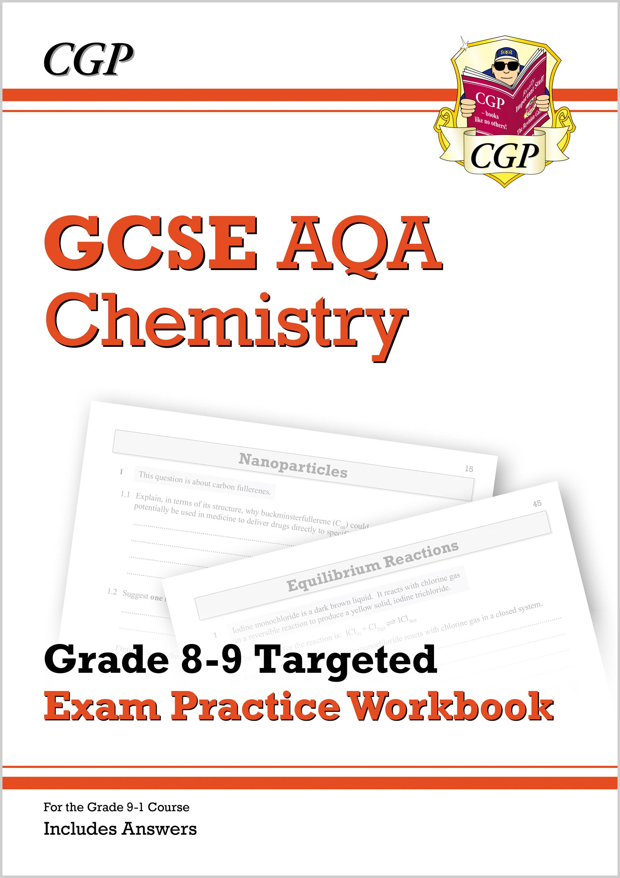 CA9Q41DK - New GCSE Chemistry AQA Grade 8-9 Targeted Exam Practice Workbook (includes Answers)