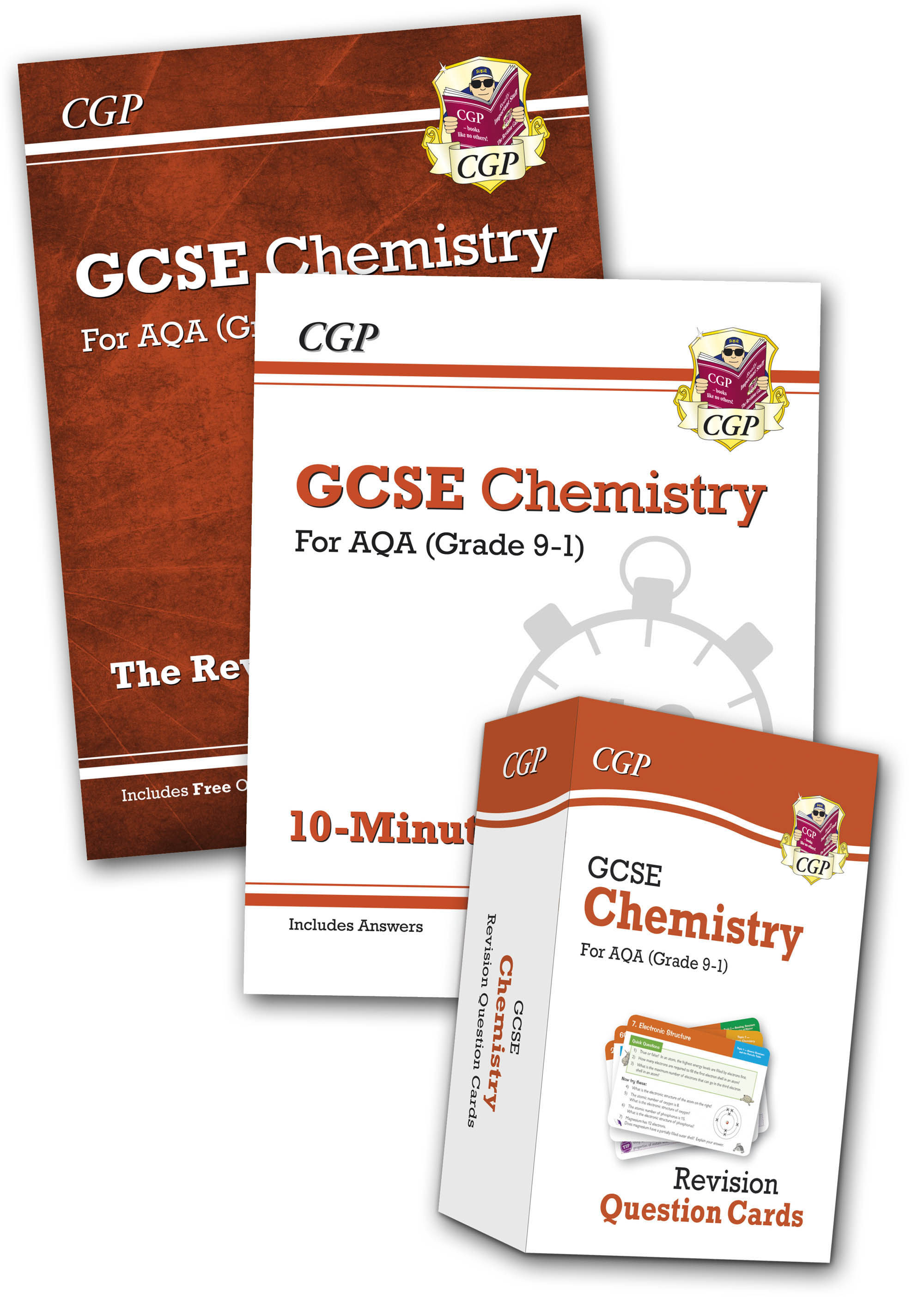 CABB41 - Grade 9-1 GCSE Chemistry AQA Money-Saving Bundle