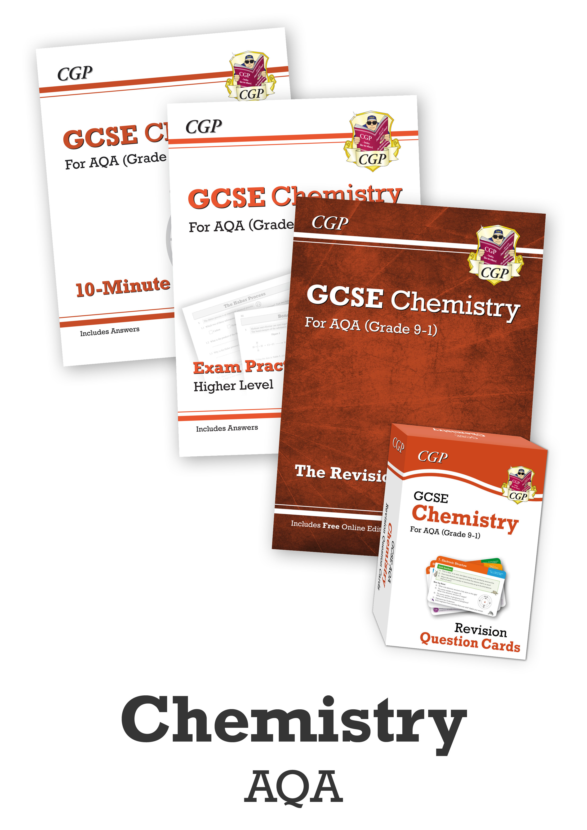 CACUB41 - GCSE Home Learning Essentials Bundle: AQA Chemistry