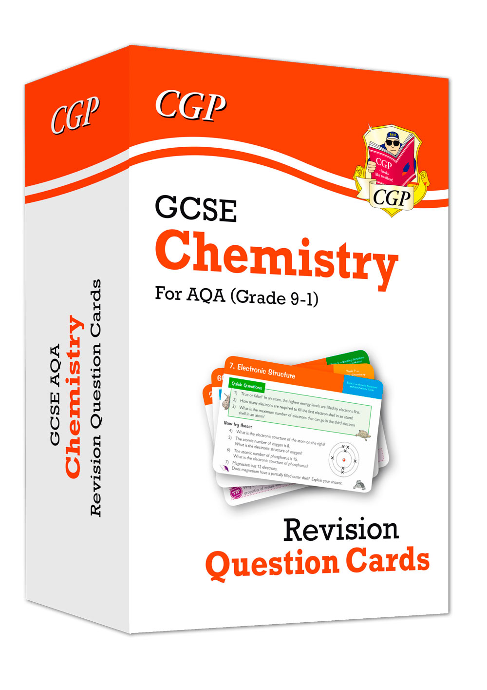 CAF41 - New 9-1 GCSE Chemistry AQA Revision Question Cards