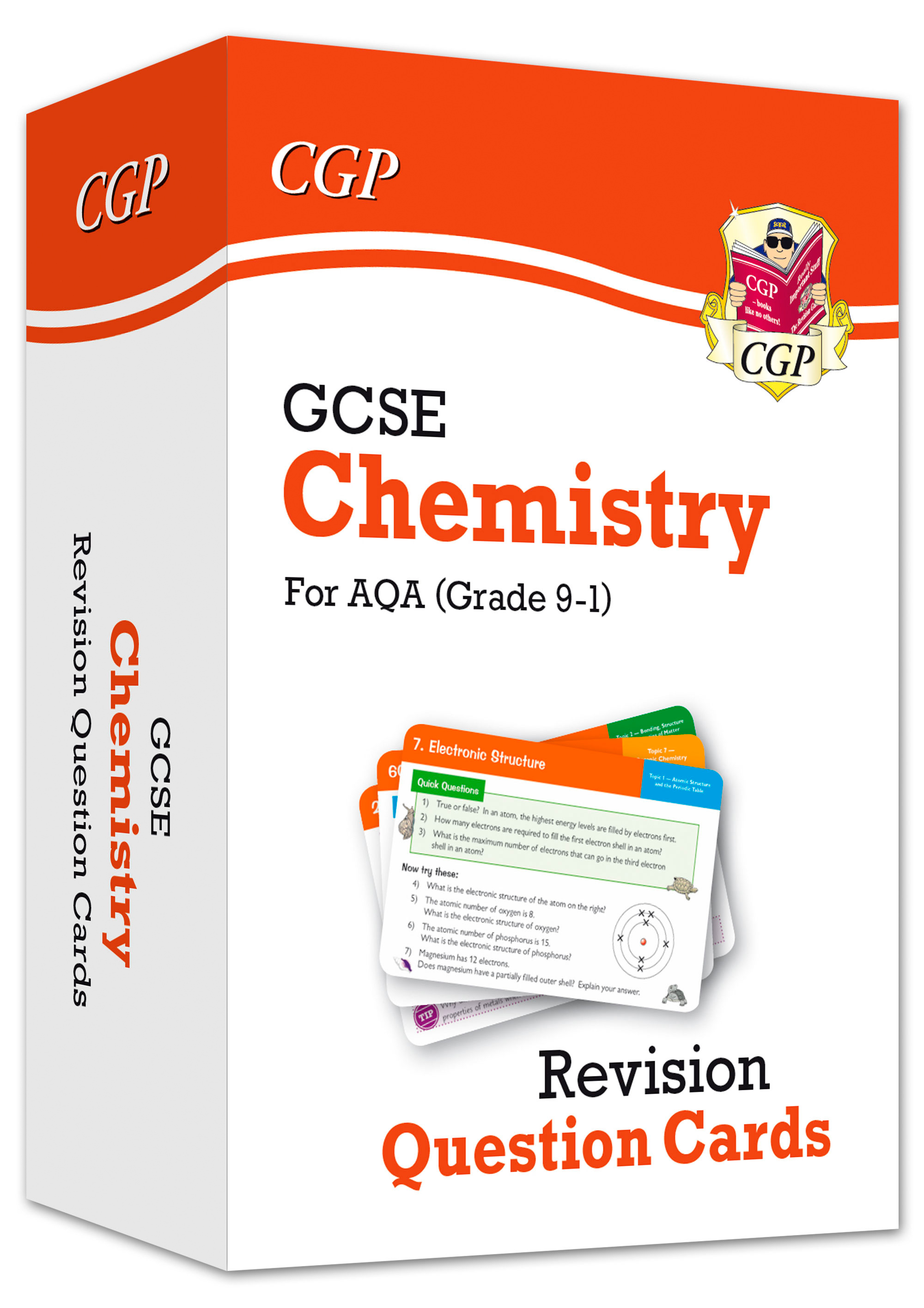 CAF41D - New 9-1 GCSE Chemistry AQA Revision Question Cards Online Edition