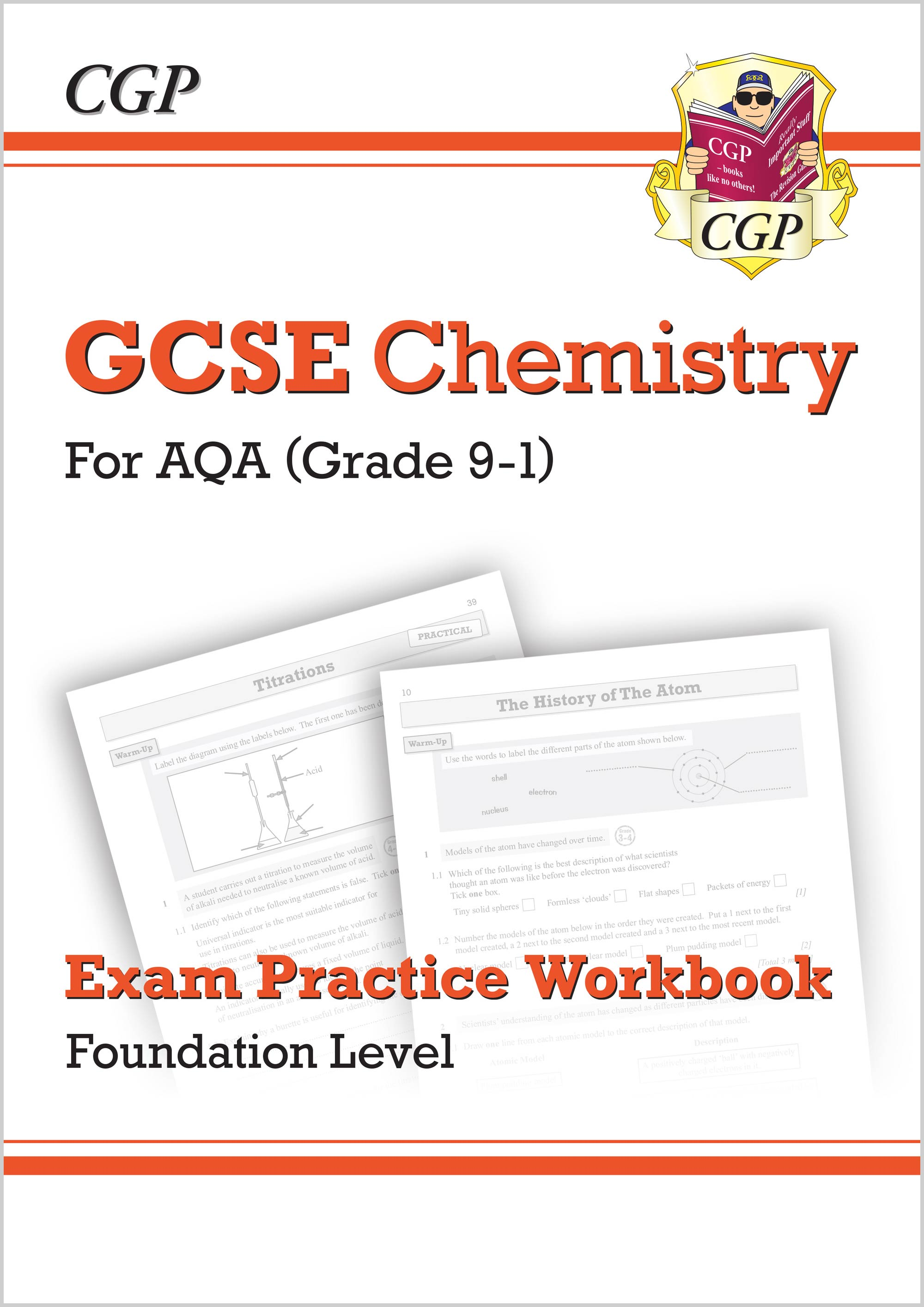 CAFQ41 - New Grade 9-1 GCSE Chemistry: AQA Exam Practice Workbook - Foundation