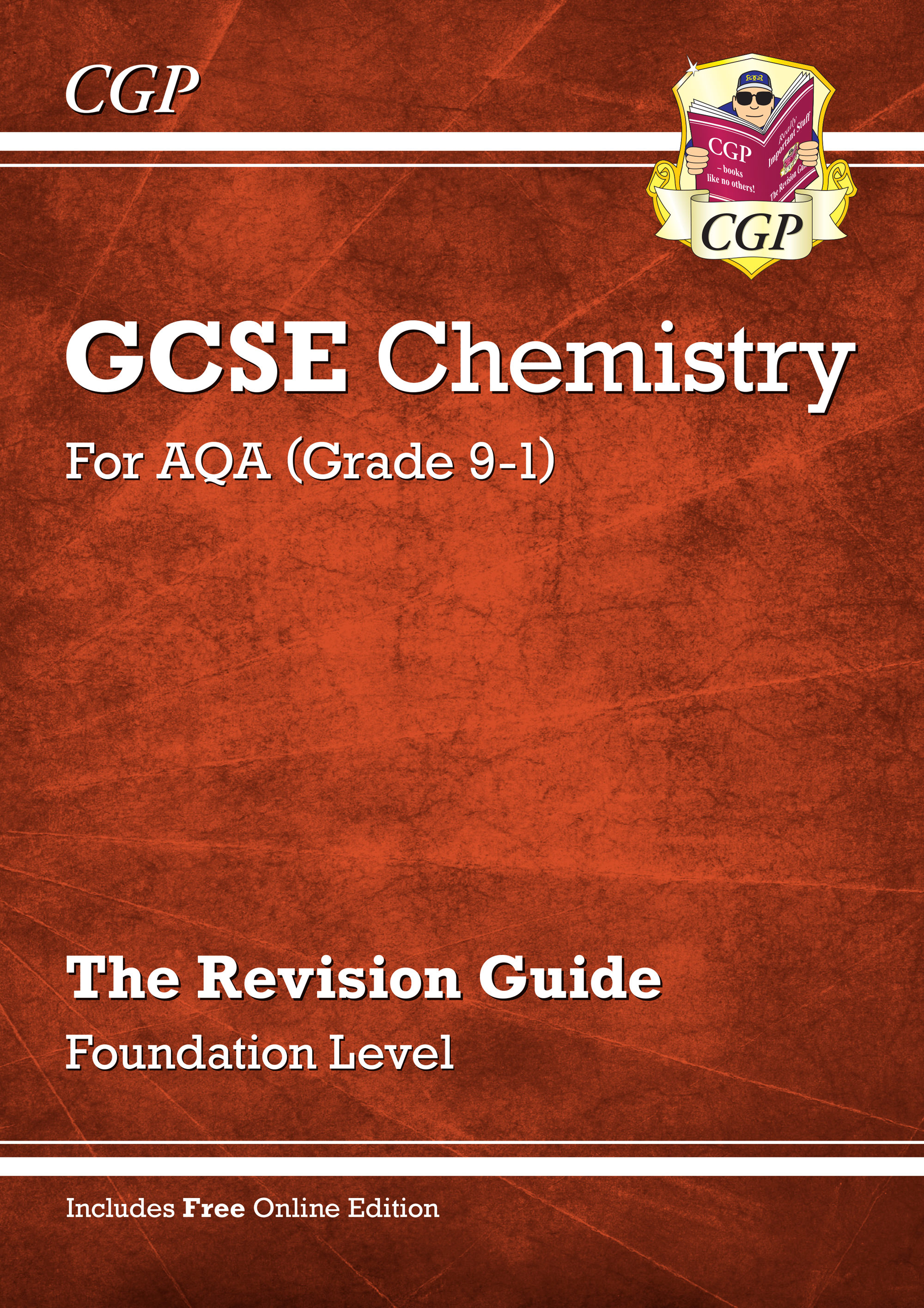 CAFR41 - Grade 9-1 GCSE Chemistry: AQA Revision Guide with Online Edition - Foundation