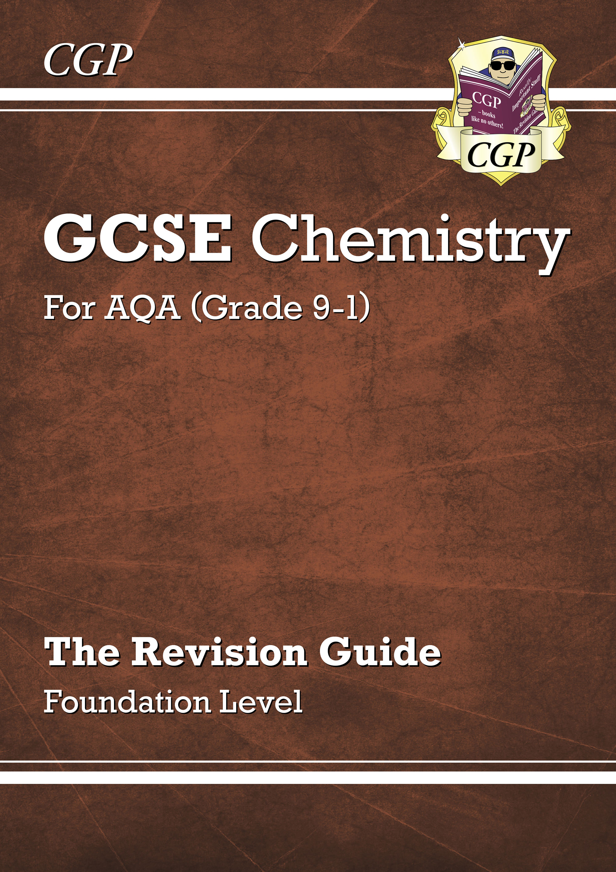 CAFR41DK - New Grade 9-1 GCSE Chemistry: AQA Revision Guide- Foundation
