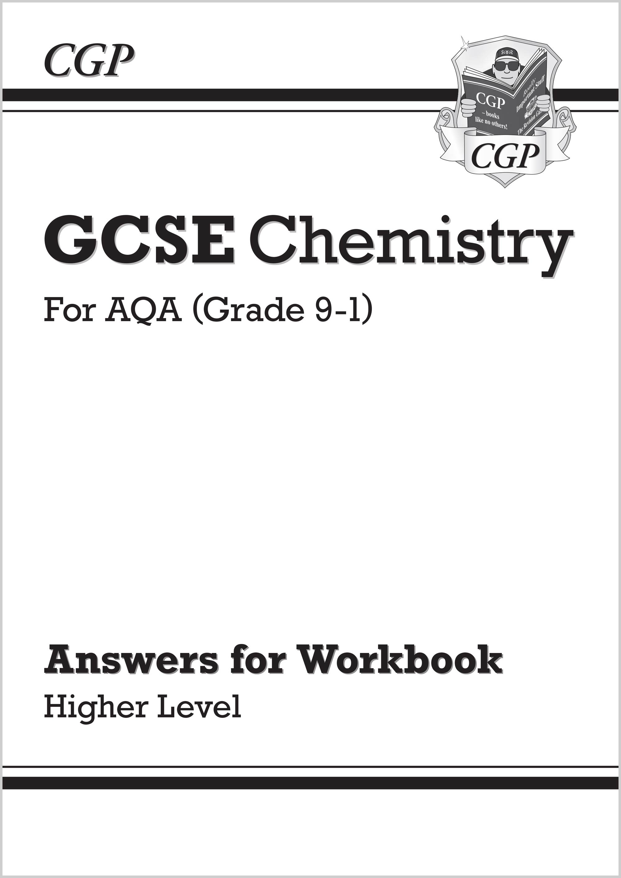 CAHA41 - New Grade 9-1 GCSE Chemistry: AQA Answers (for Workbook) - Higher