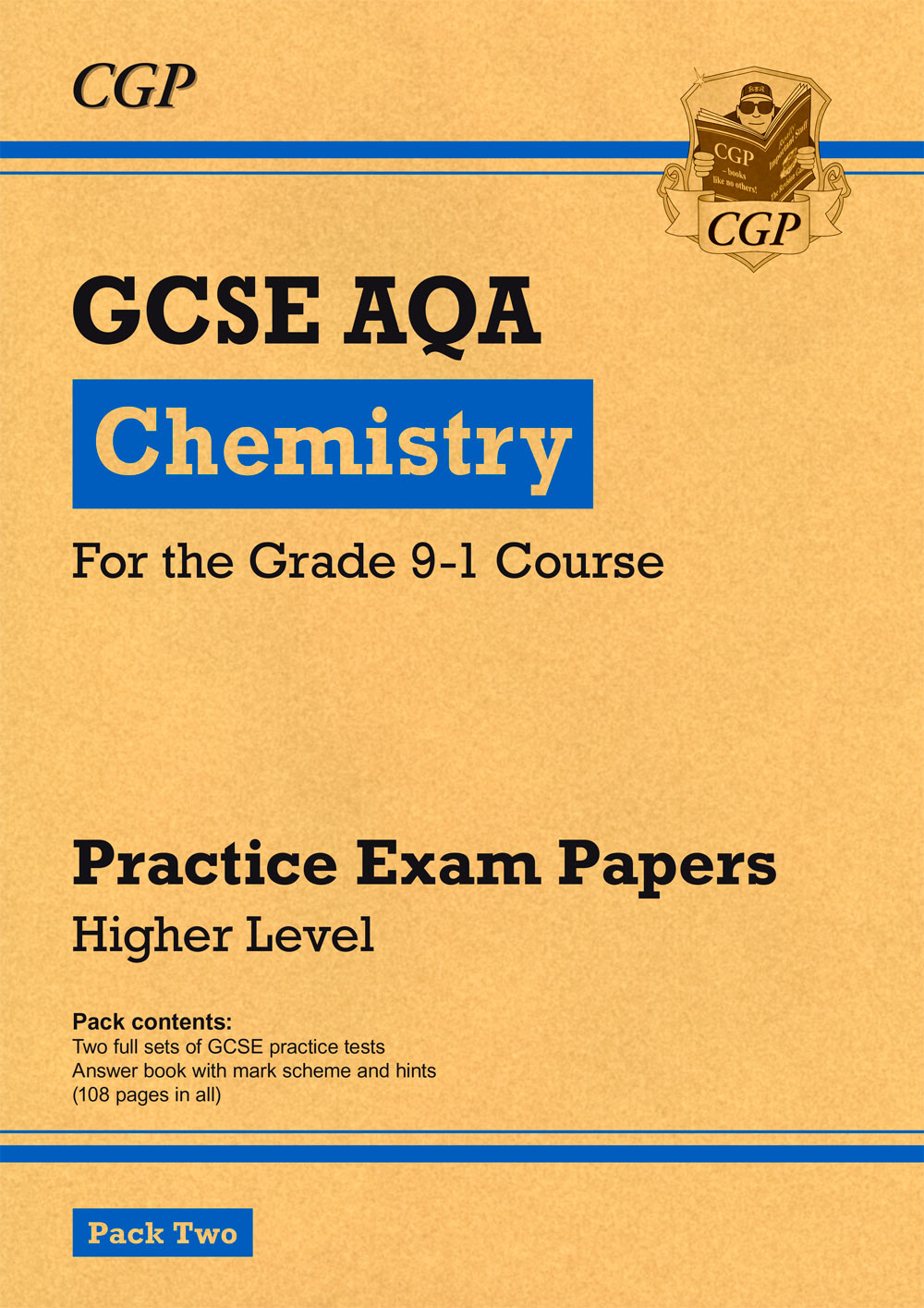 CAHP241 - New Grade 9-1 GCSE Chemistry AQA Practice Papers: Higher Pack 2