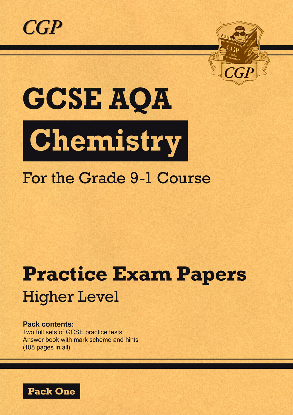 CAHP45 - Grade 9-1 GCSE Chemistry AQA Practice Papers: Higher Pack 1