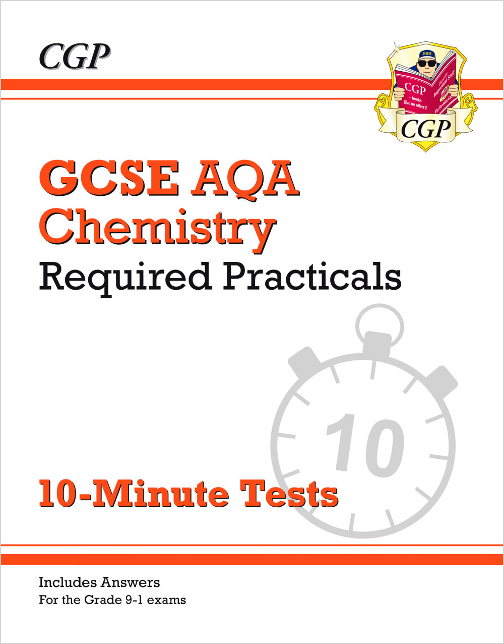 CAPRXP41 - New Grade 9-1 GCSE Chemistry: AQA Required Practicals 10-Minute Tests (includes Answers)