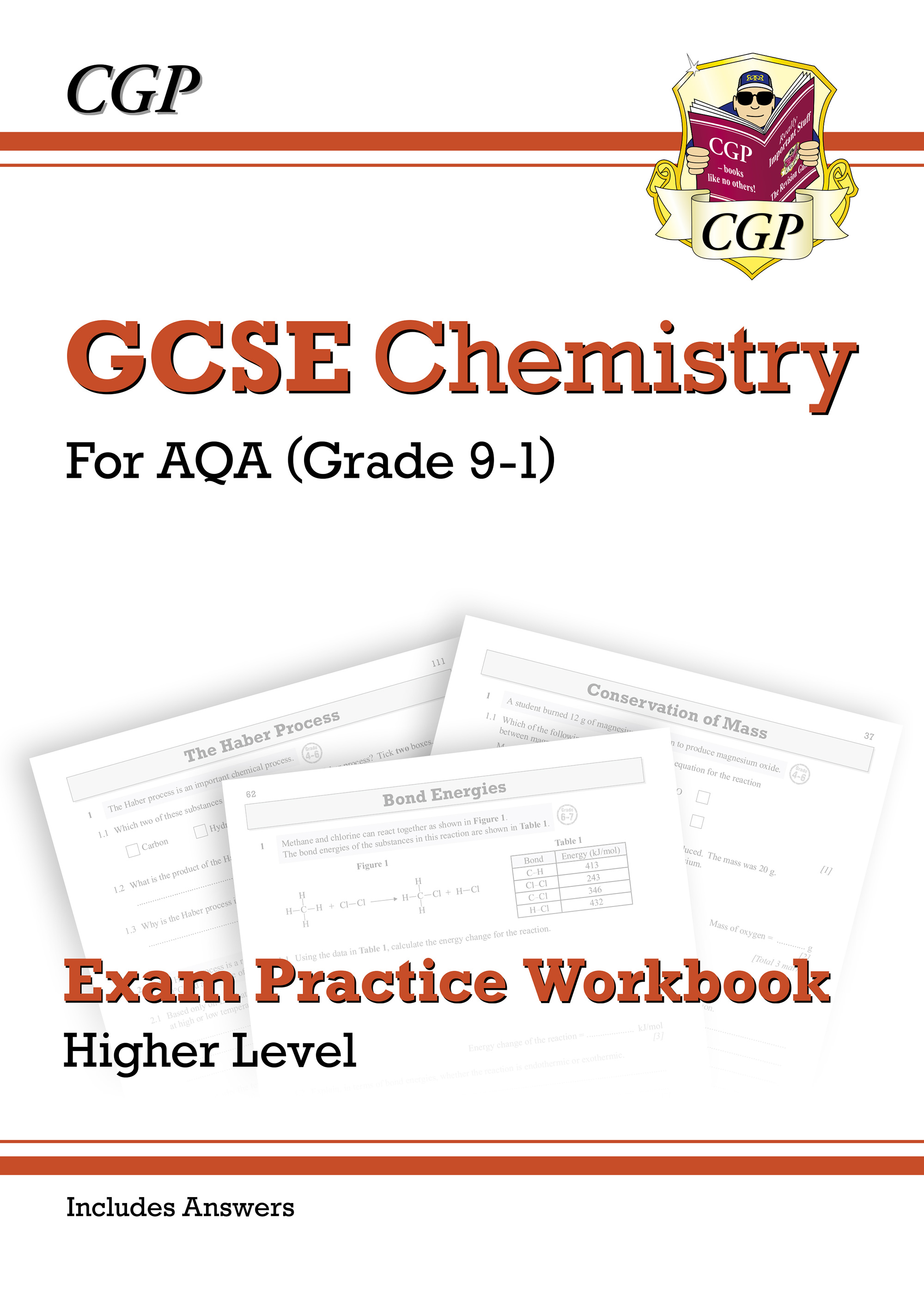 CAQ41BDK - Grade 9-1 GCSE Chemistry: AQA Exam Practice Workbook (with answers) - Higher