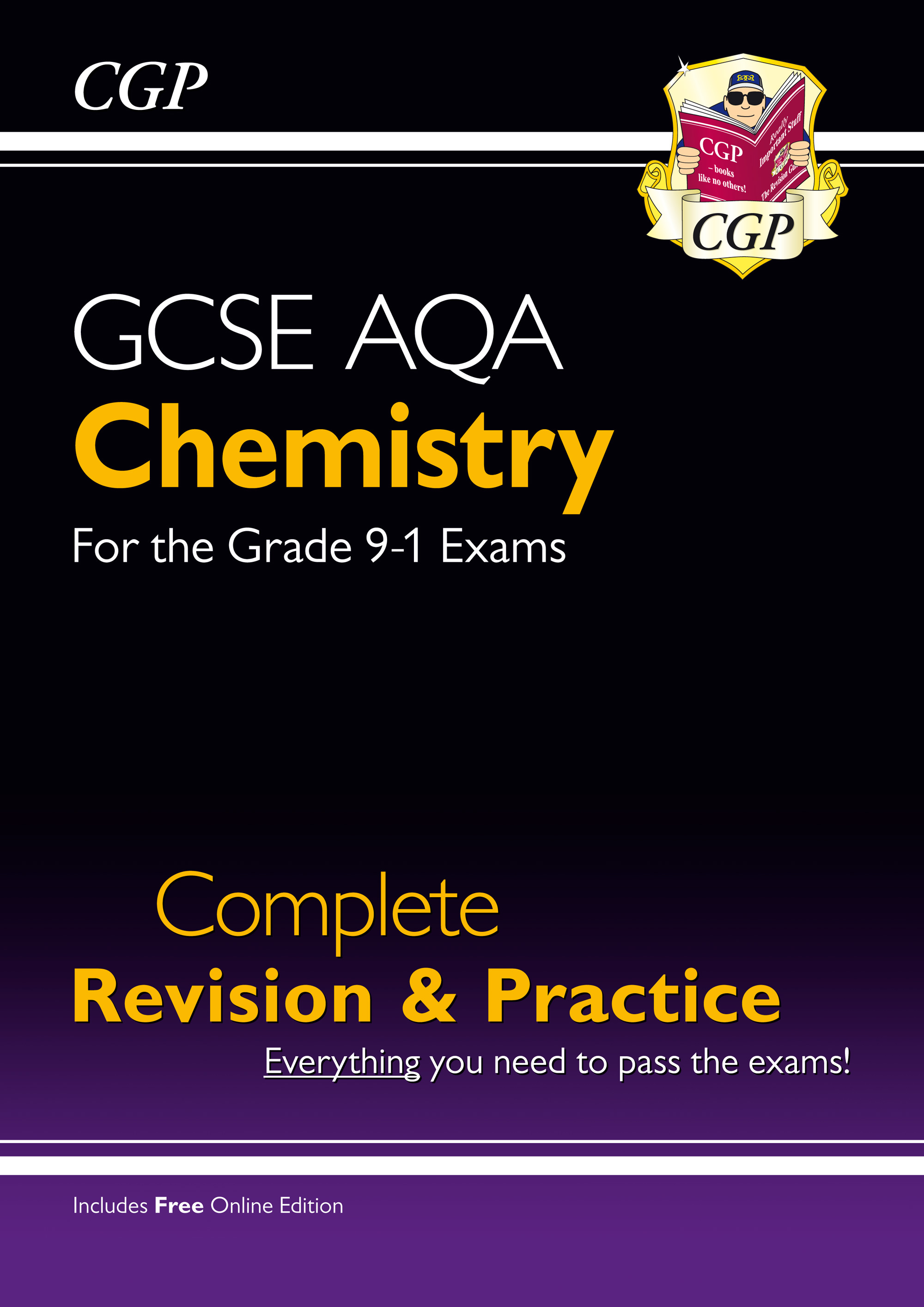 CAS45 - Grade 9-1 GCSE Chemistry AQA Complete Revision & Practice with Online Edition
