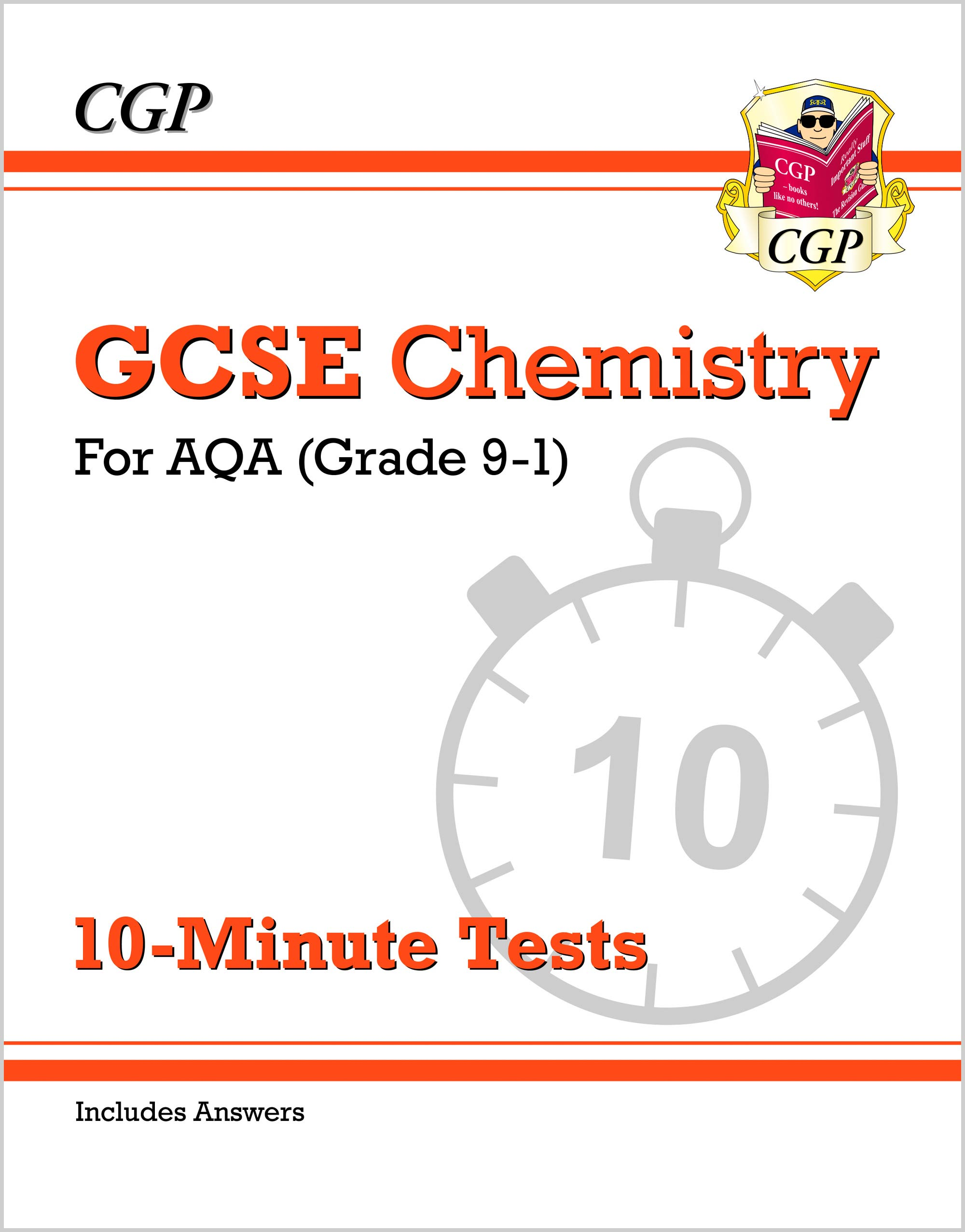 CAXP42DK - New Grade 9-1 GCSE Chemistry: AQA 10-Minute Tests (with answers)