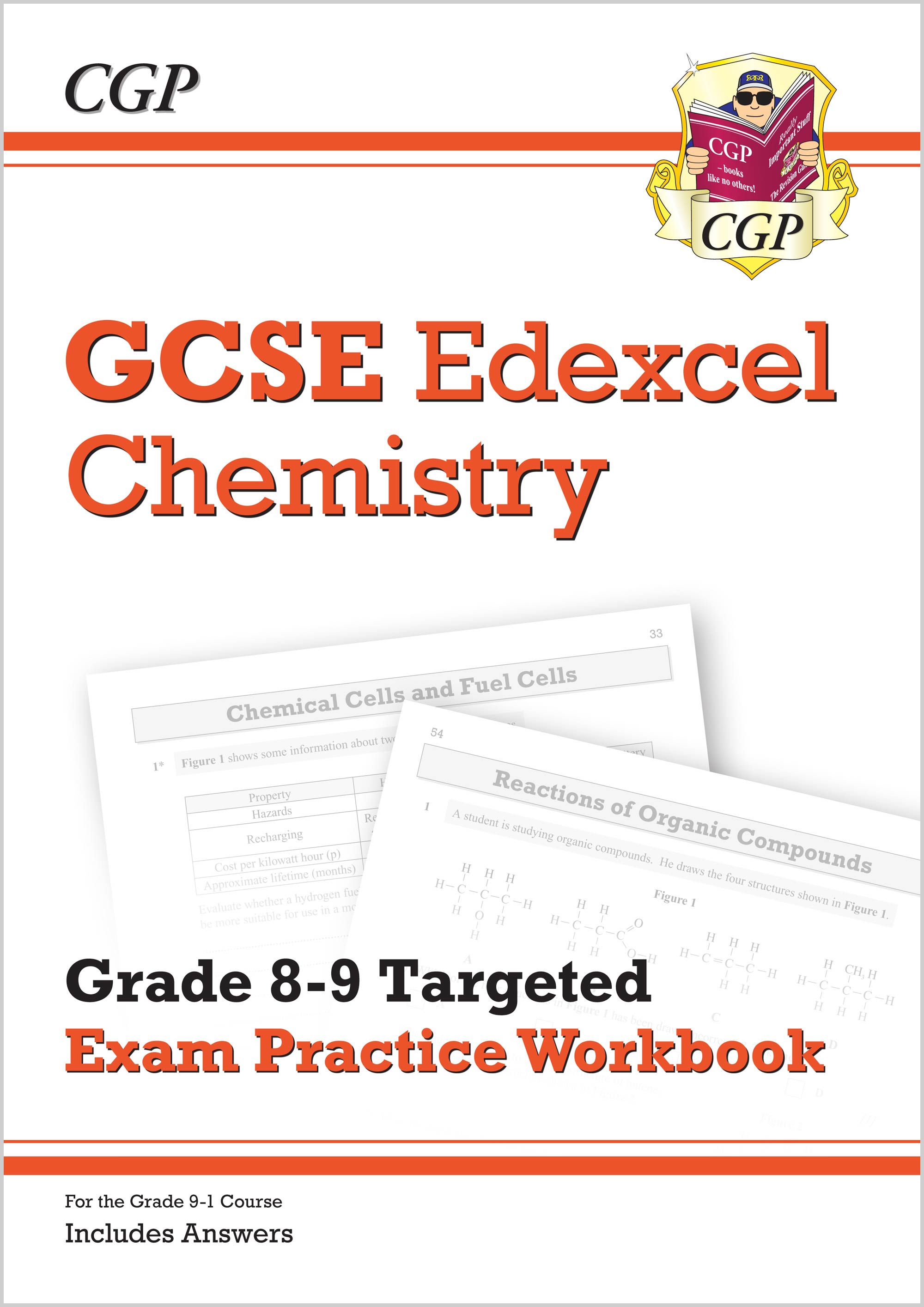 CE9Q41 - New GCSE Chemistry Edexcel Grade 8-9 Targeted Exam Practice Workbook (includes Answers)