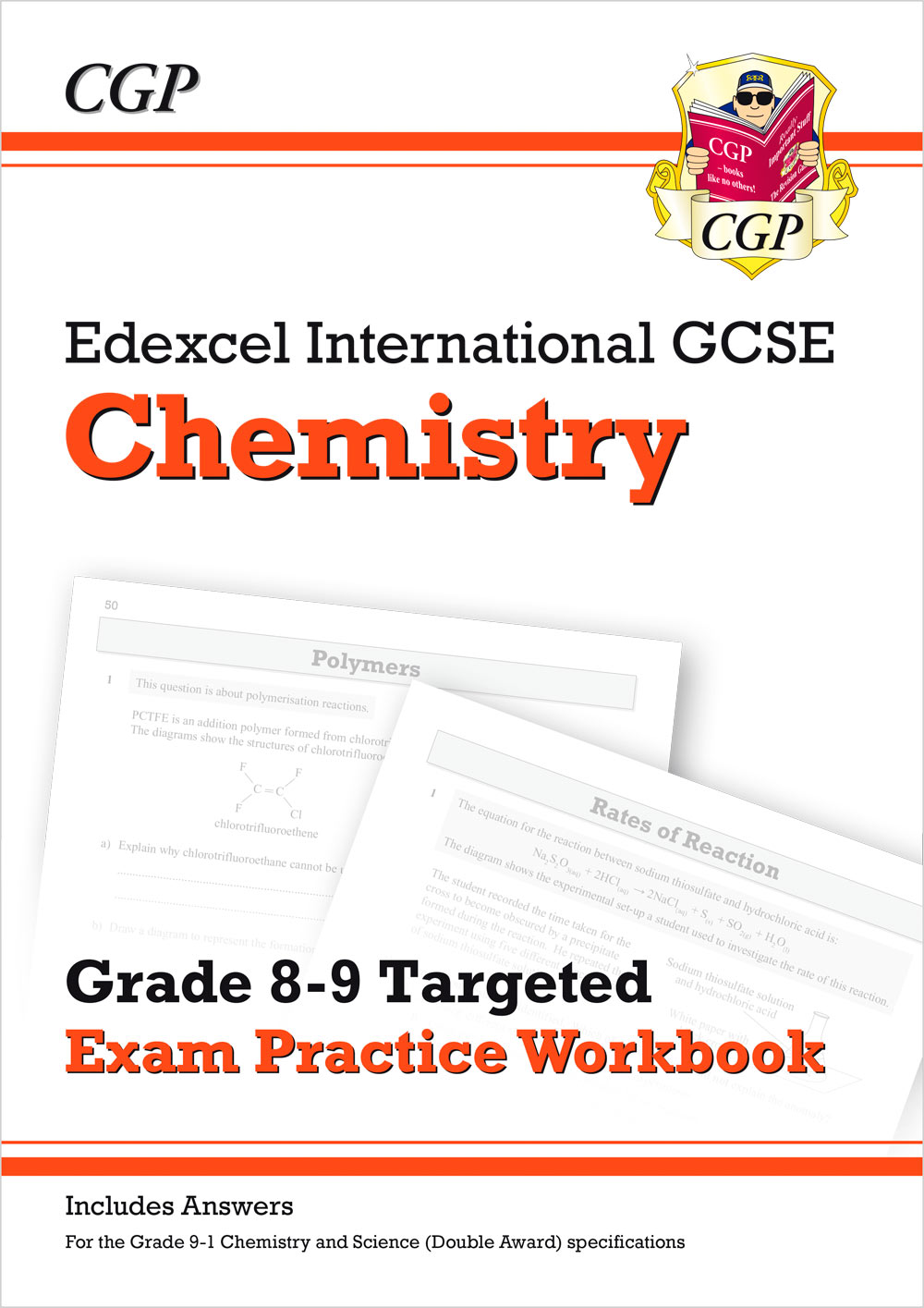 CE9QI41 - New Edexcel International GCSE Chemistry: Grade 8-9 Targeted Exam Practice Workbook (with