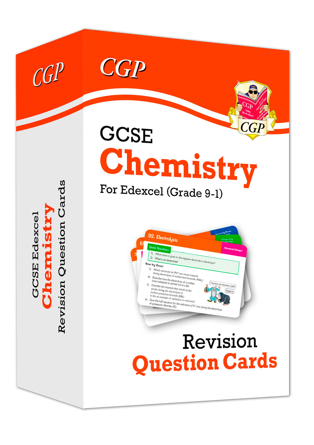 CEF41 - 9-1 GCSE Chemistry Edexcel Revision Question Cards