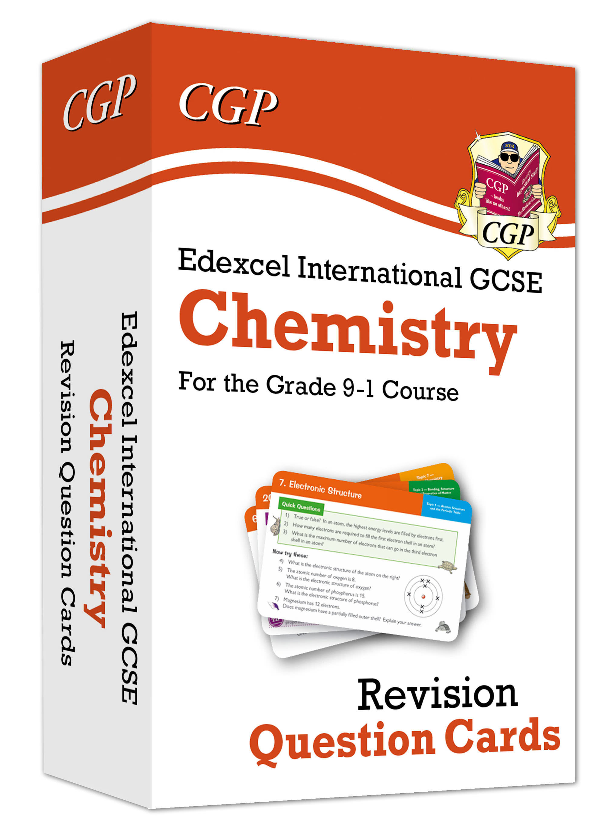 CEFI41DK - New Grade 9-1 Edexcel International GCSE Chemistry: Revision Question Cards