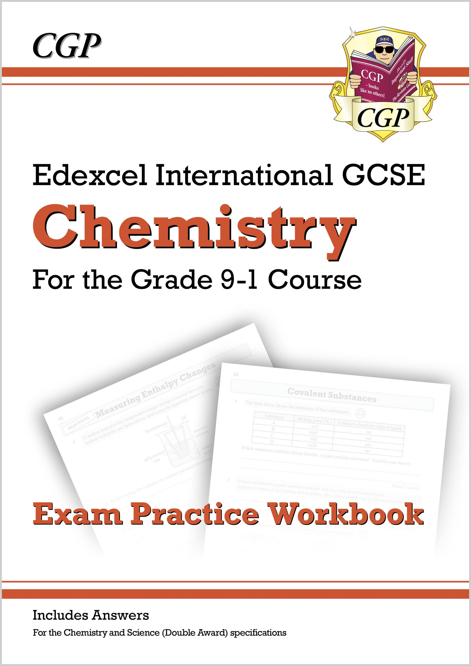 CEQI42D - New Grade 9-1 Edexcel International GCSE Chemistry: Exam Practice Workbook (includes Answe