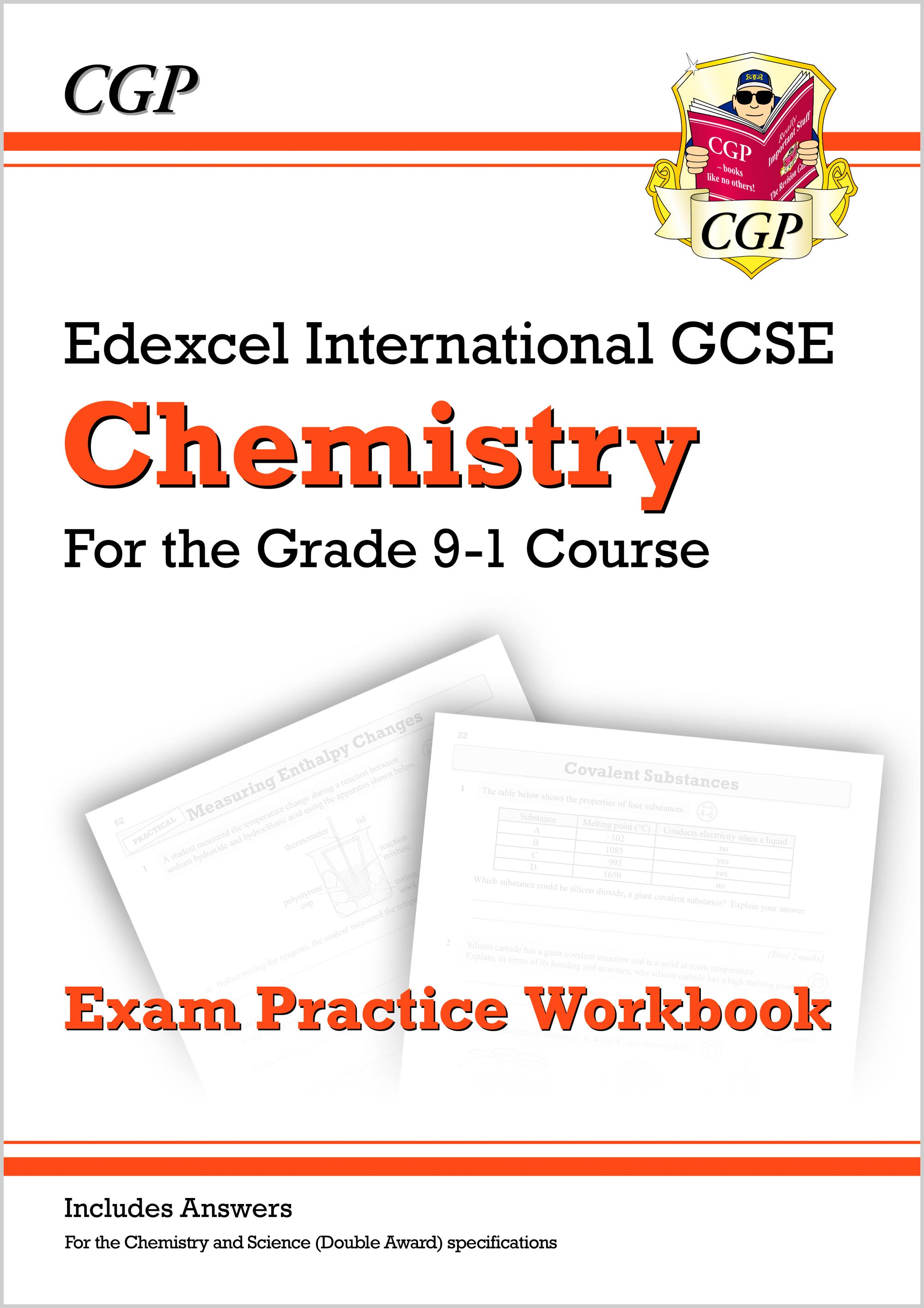CEQI42DK - New Grade 9-1 Edexcel International GCSE Chemistry: Exam Practice Workbook (includes Answ