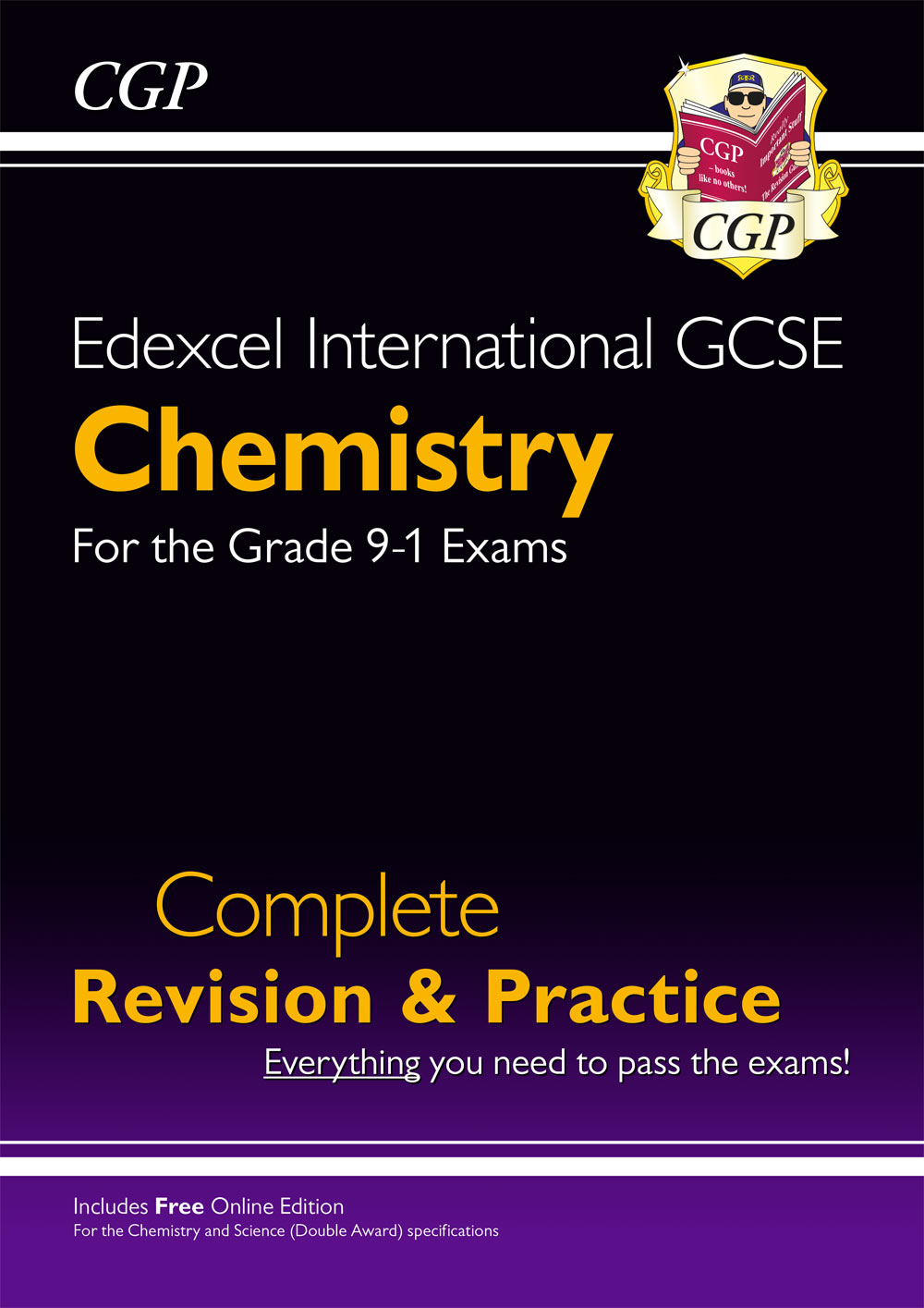 CESI42 - Grade 9-1 Edexcel International GCSE Chemistry: Complete Revision & Practice with Online Ed