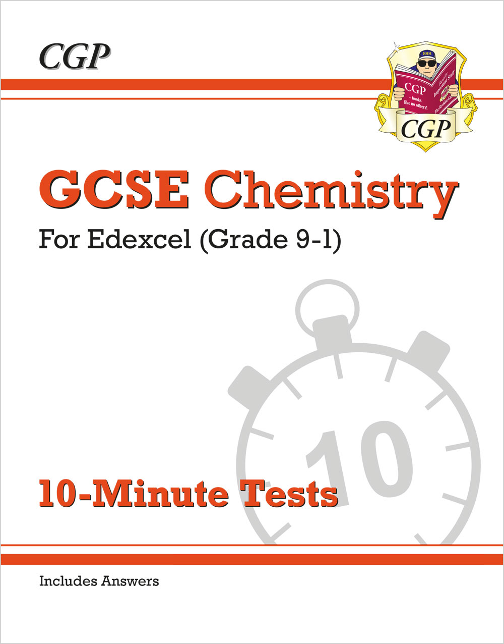 CEXP41 - Grade 9-1 GCSE Chemistry: Edexcel 10-Minute Tests (with answers)