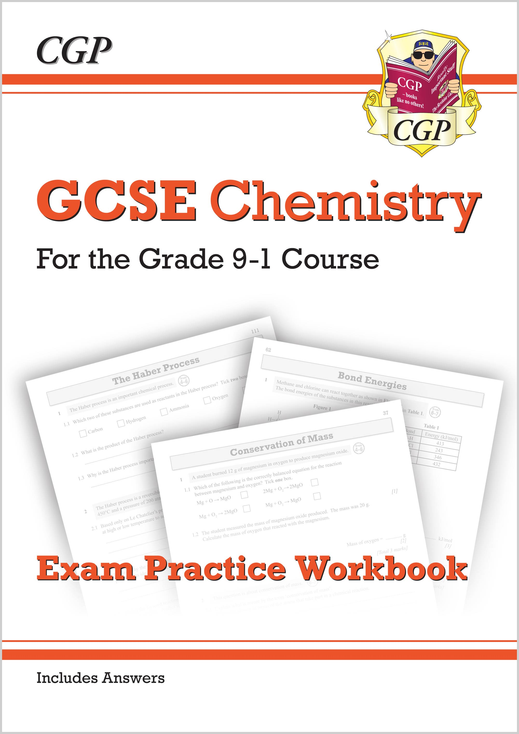 CHQ41B - New Grade 9-1 GCSE Chemistry: Exam Practice Workbook (with answers)