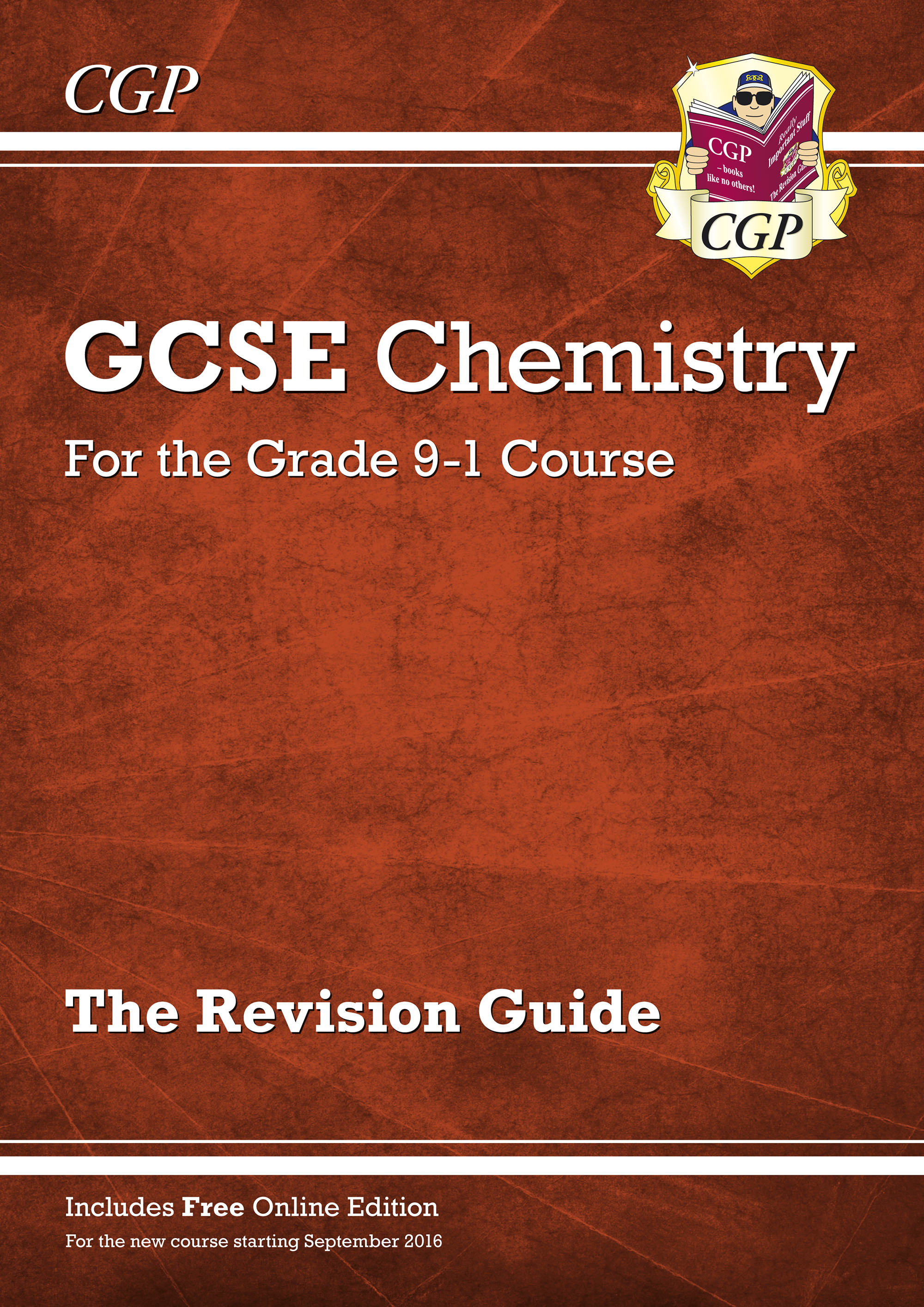 CHR45 - Grade 9-1 GCSE Chemistry: Revision Guide with Online Edition