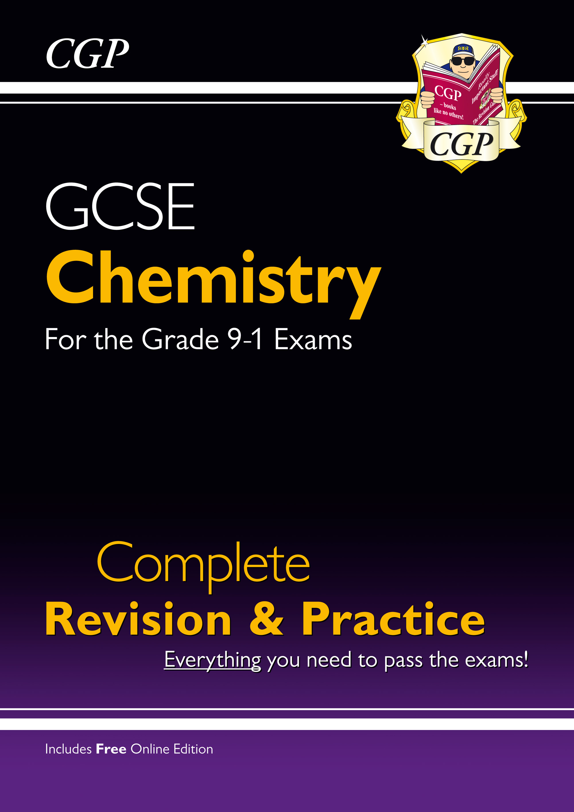 CHS45 - New Grade 9-1 GCSE Chemistry Complete Revision & Practice with Online Edition
