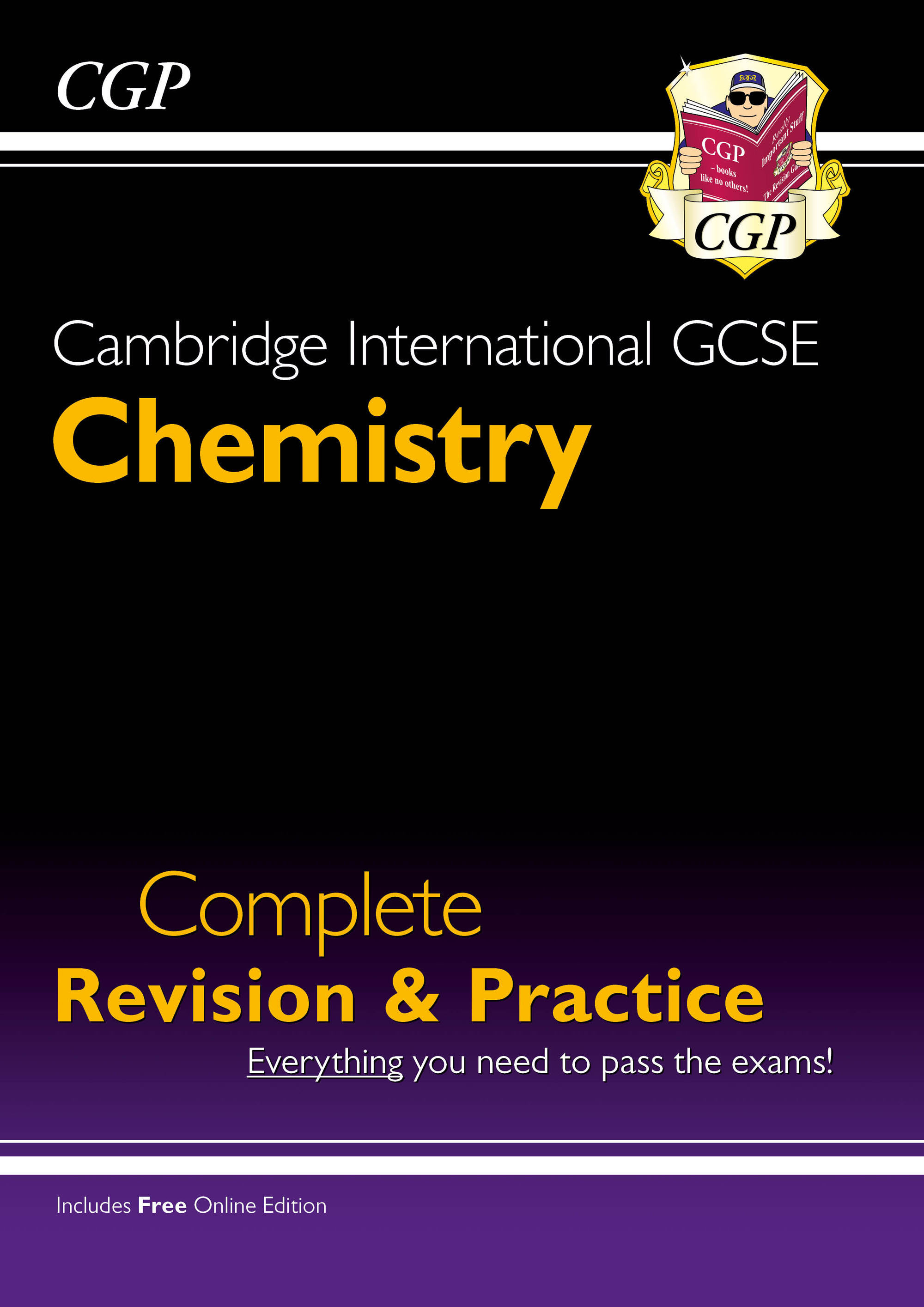 CISI41 - New Cambridge International GCSE Chemistry Complete Revision & Practice: Core & Extended +