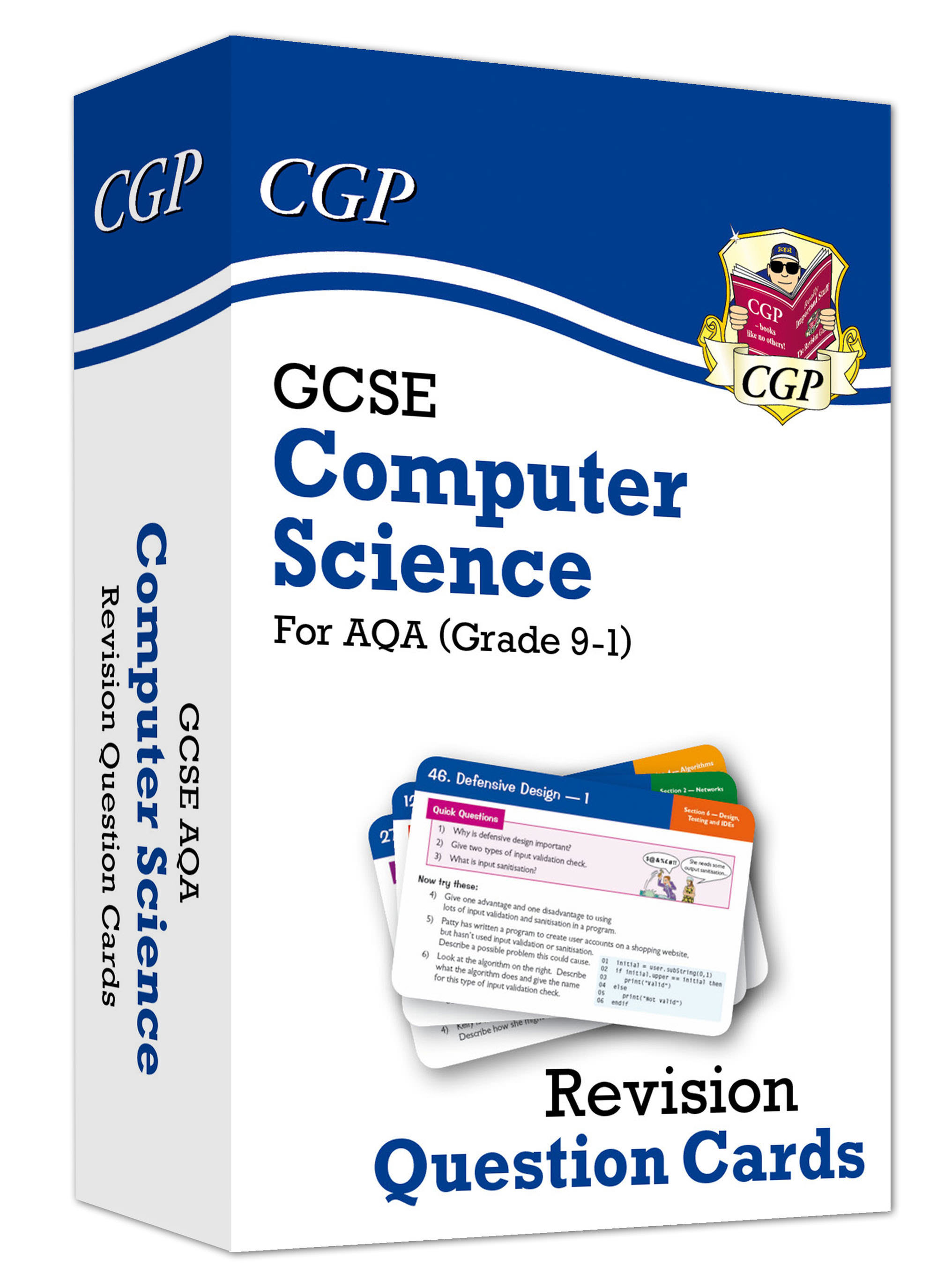COAF41 - New Grade 9-1 GCSE Computer Science AQA Revision Question Cards