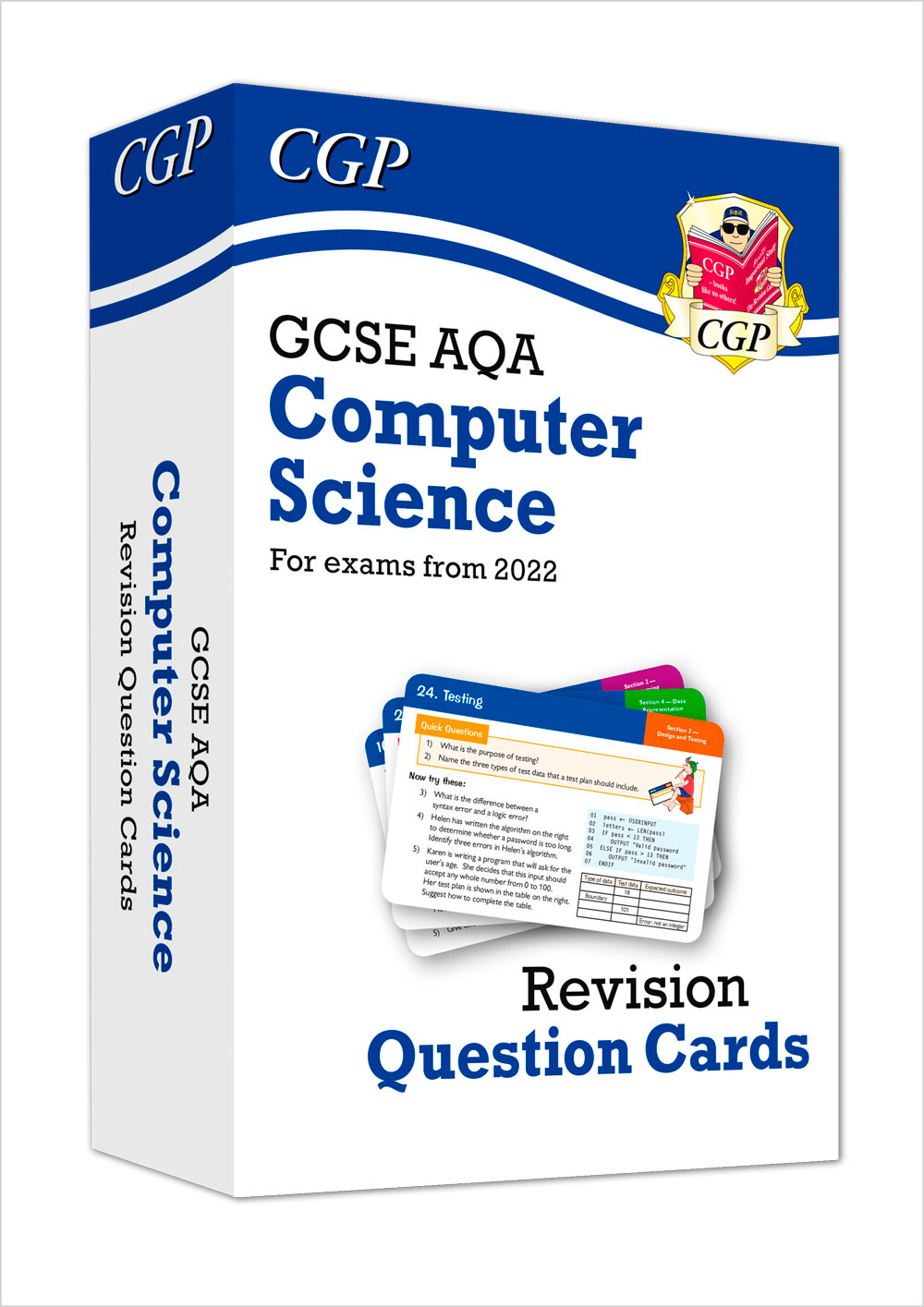 COAF42 - New Grade 9-1 Computer Science AQA Revision Question Cards - for exams in 2022 and beyond