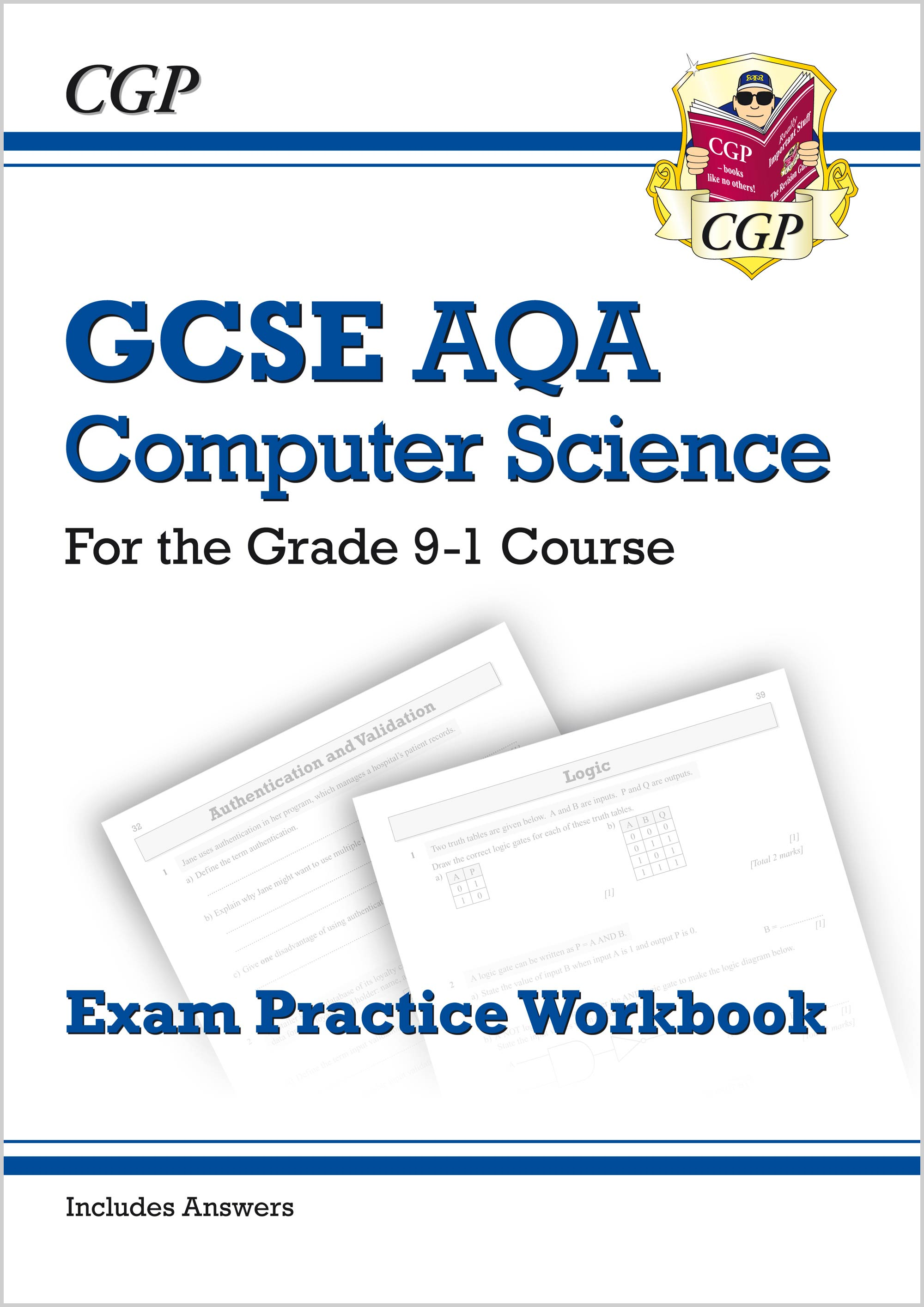 COAQ41 - New GCSE Computer Science AQA Exam Practice Workbook - for the Grade 9-1 Course (includes A