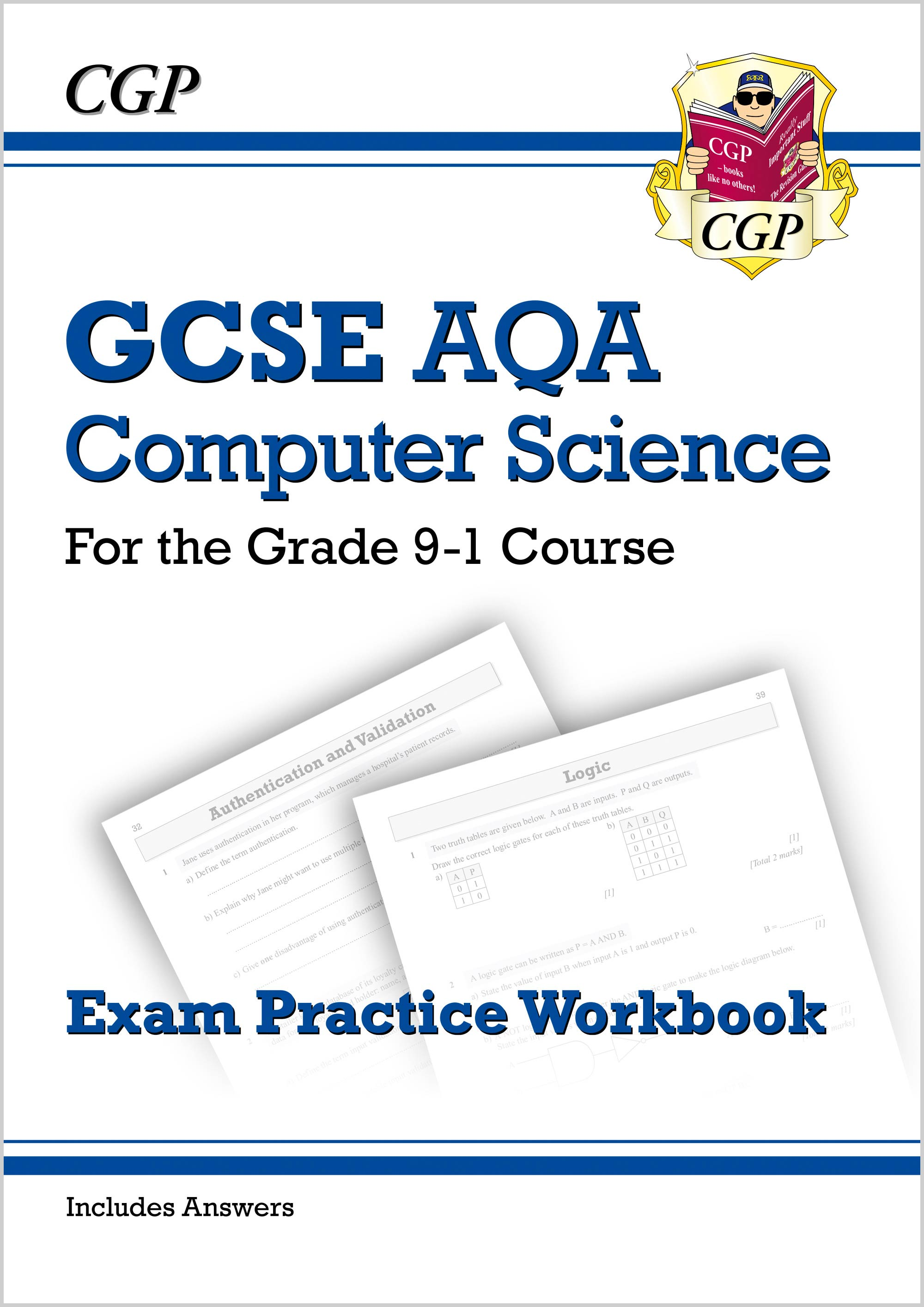 COAQ41DK - New GCSE Computer Science AQA Exam Practice Workbook - for the Grade 9-1 Course (includes