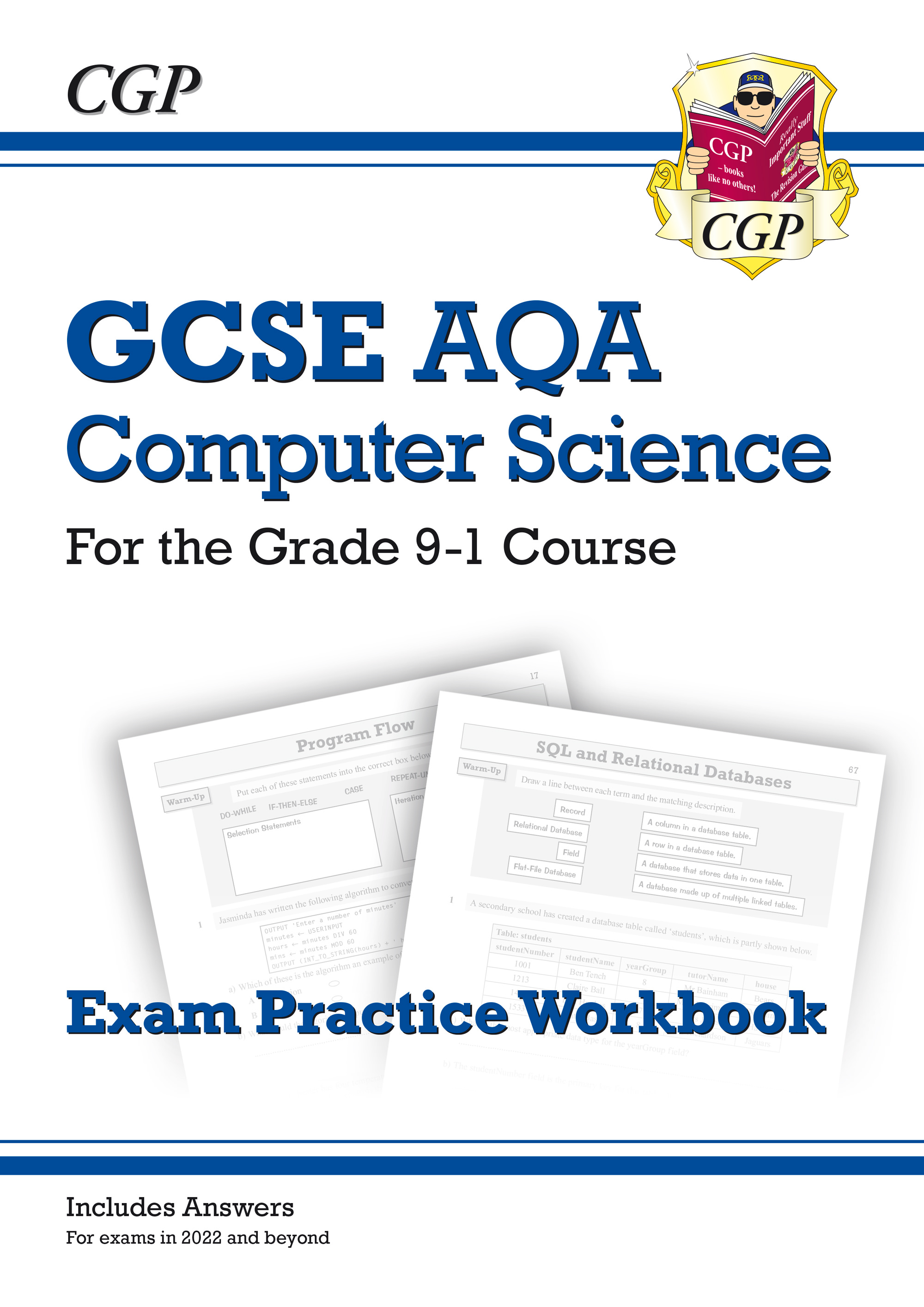 COAQ42 - New GCSE Computer Science AQA Exam Practice Workbook - for exams in 2022 and beyond