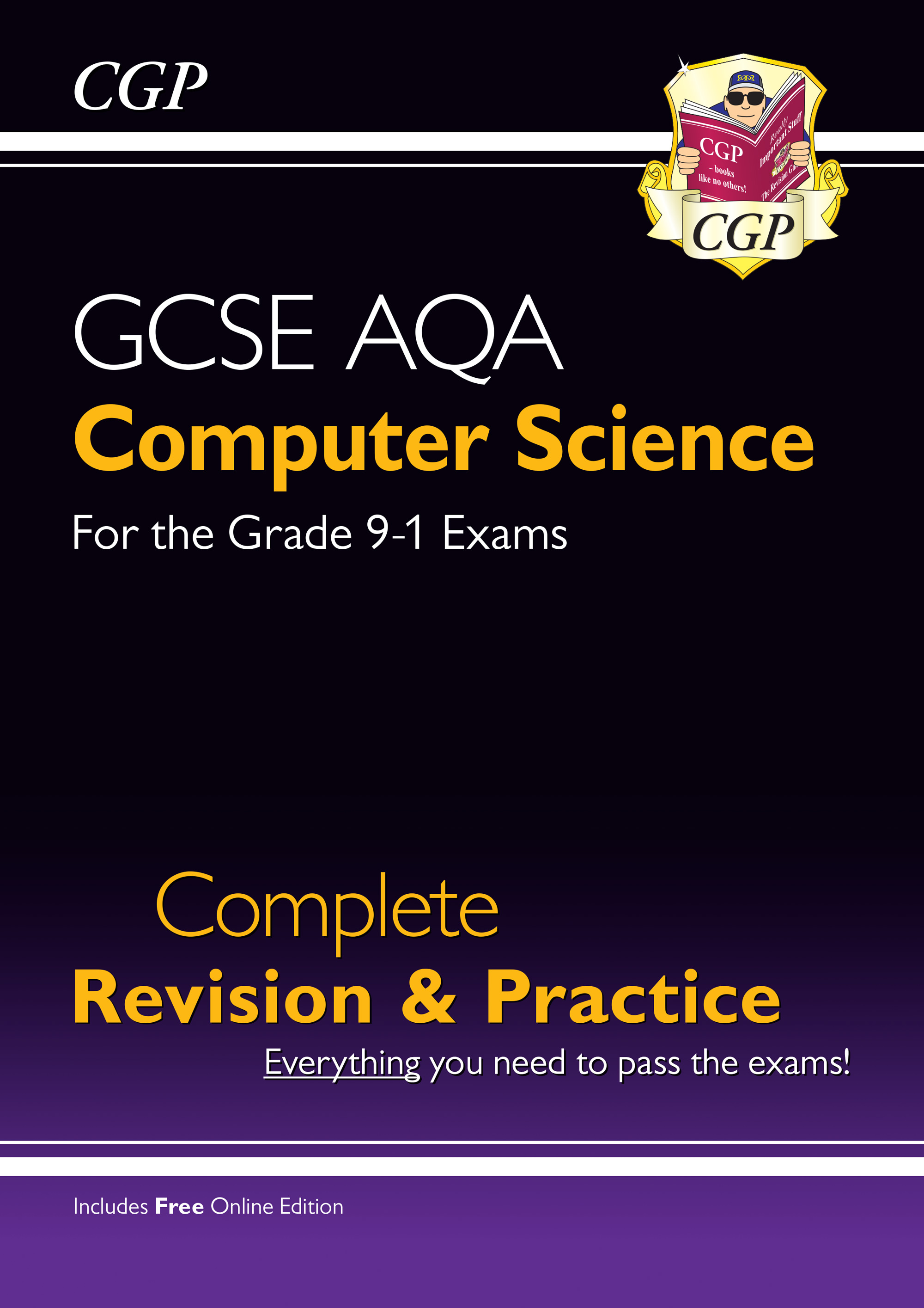 COAS41 - New GCSE Computer Science AQA Complete Revision & Practice - Grade 9-1 (with Online Edition