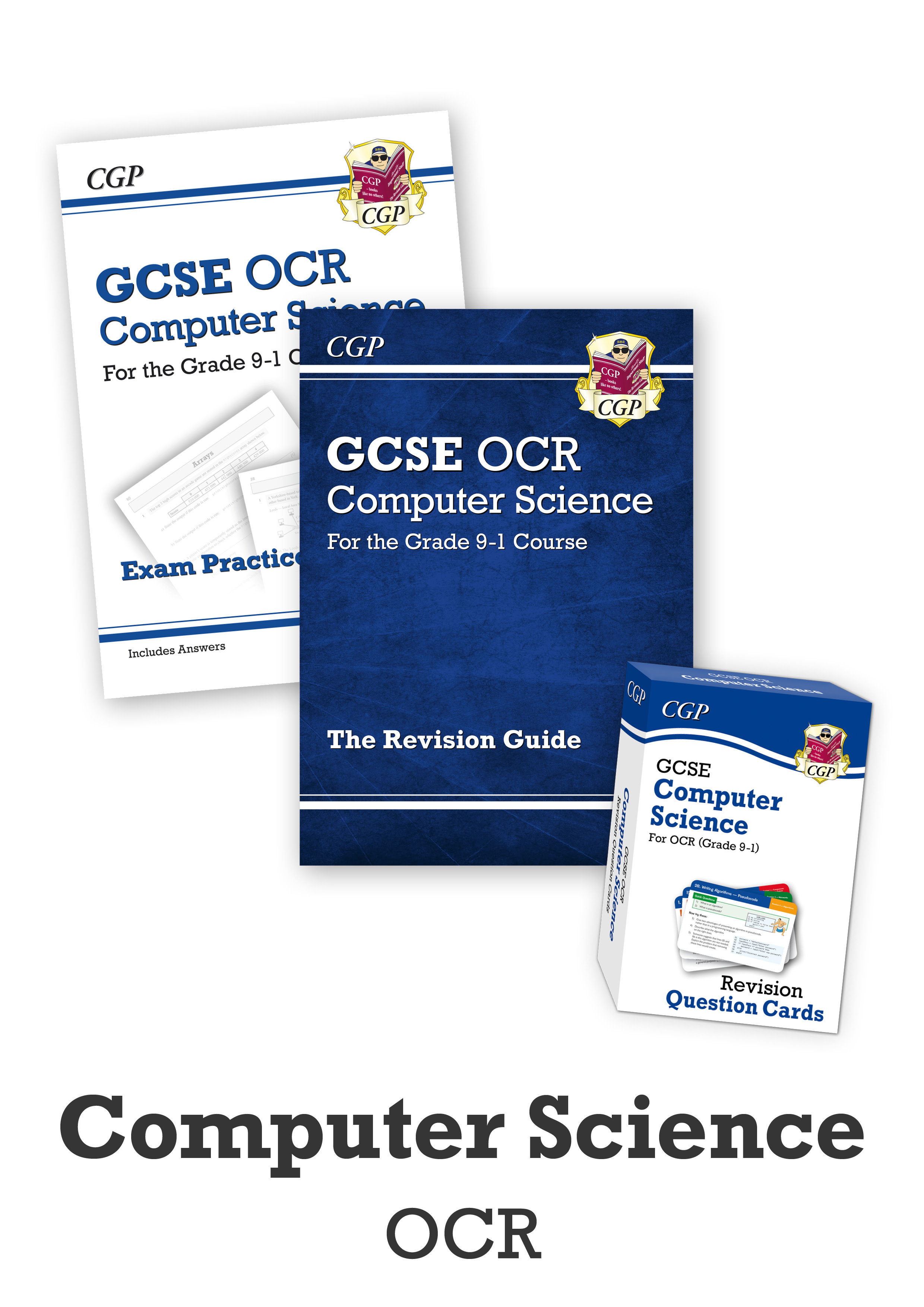 COCUB41 - GCSE Home Learning Essentials Bundle: OCR Computer Science (for 2021 assessments)