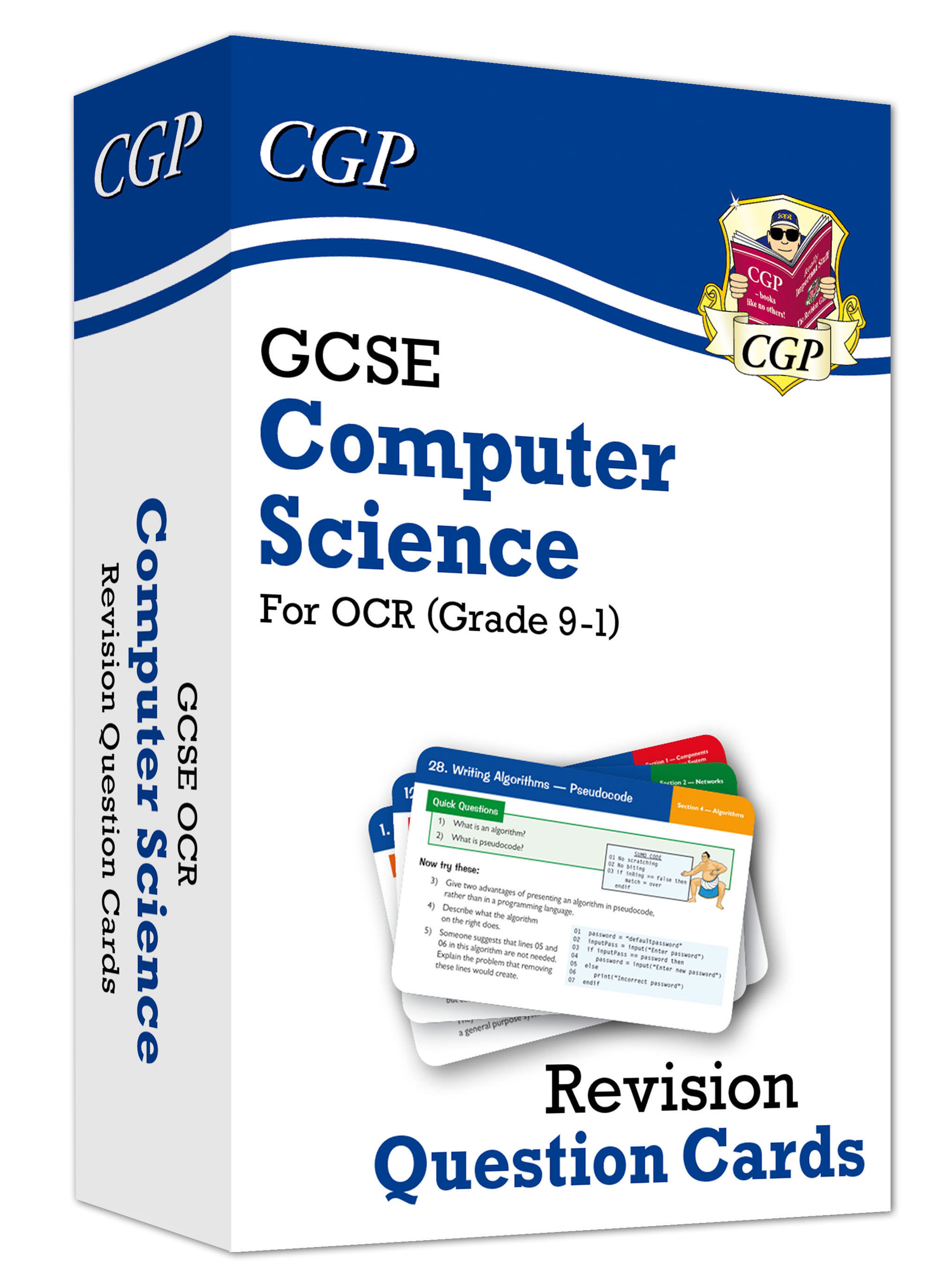 COF41DK - Grade 9-1 GCSE Computer Science OCR Revision Question Cards - for exams in 2021