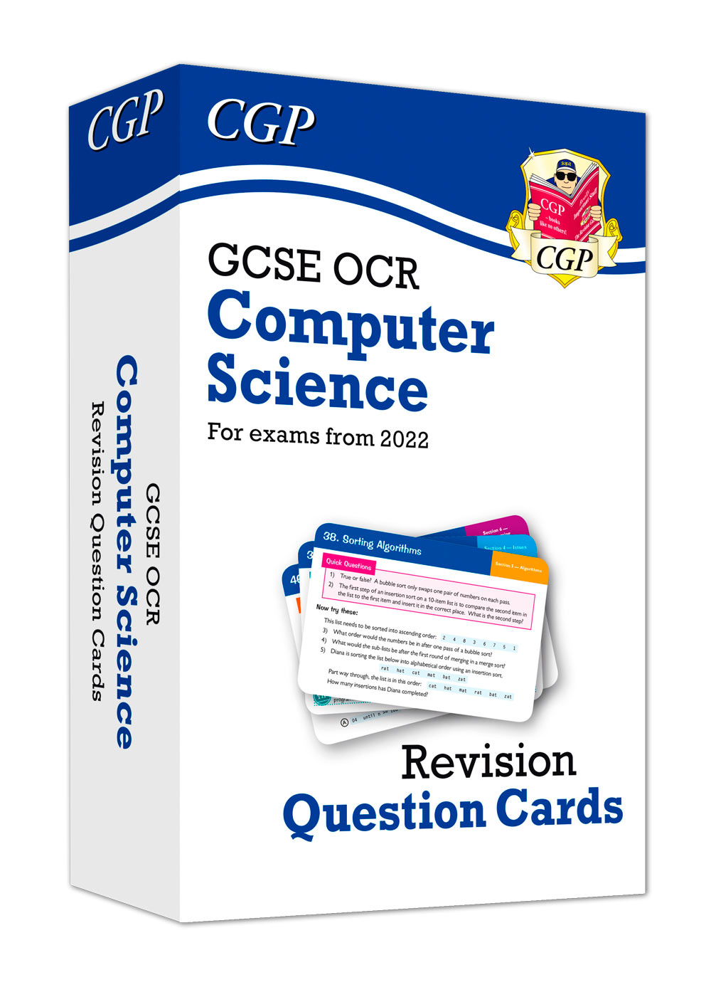 COF42 - New Grade 9-1 GCSE Computer Science OCR Revision Question Cards - for exams in 2022 and beyo