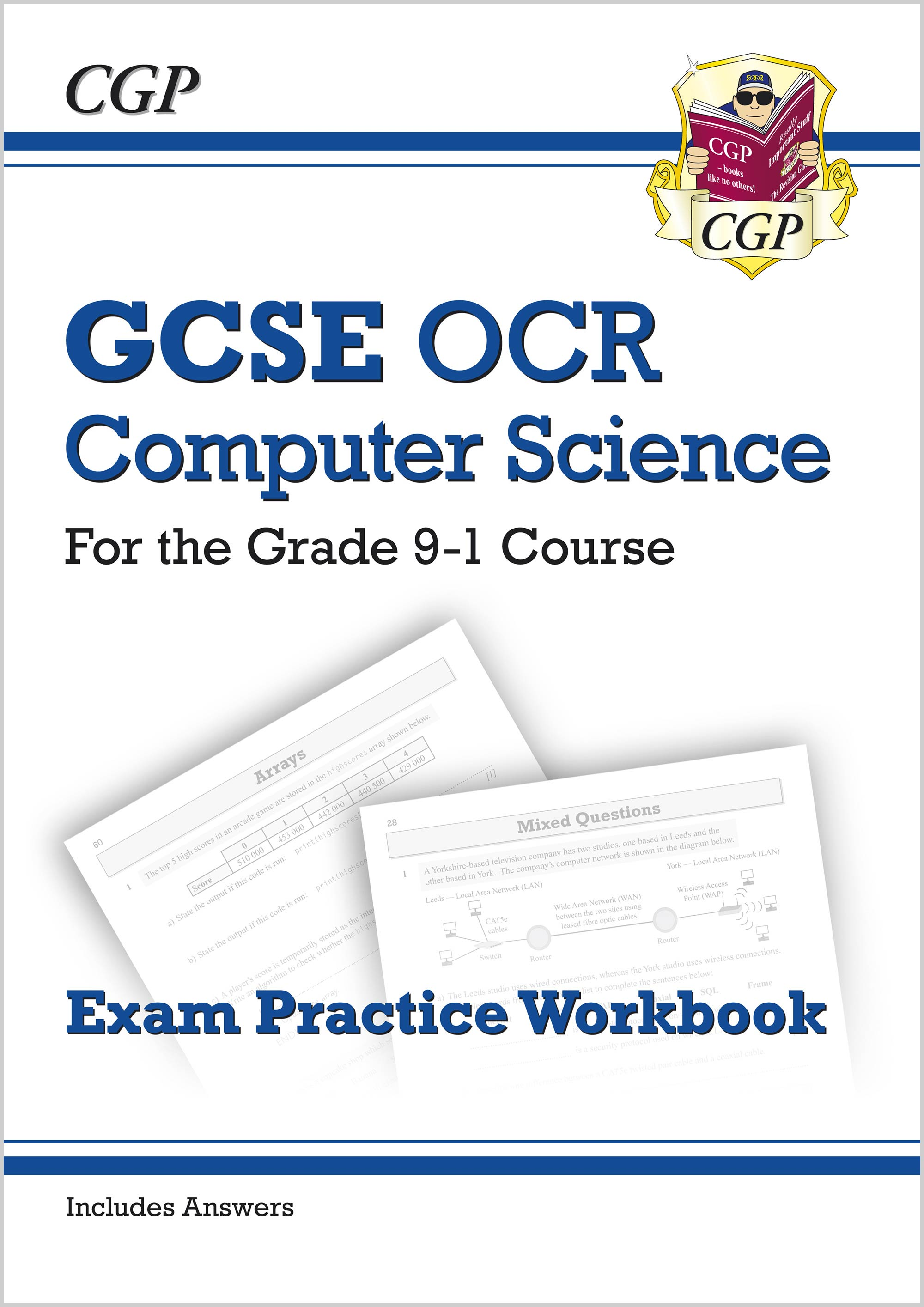 COQ41 - New GCSE Computer Science OCR Exam Practice Workbook - for the Grade 9-1 Course (includes An