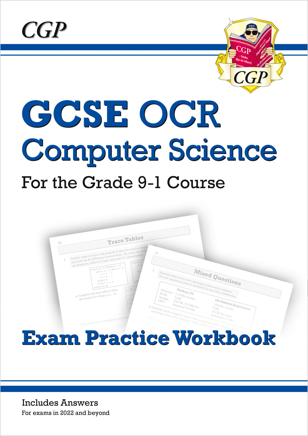 COQ42 - New GCSE Computer Science OCR Exam Practice Workbook - for exams in 2022 and beyond