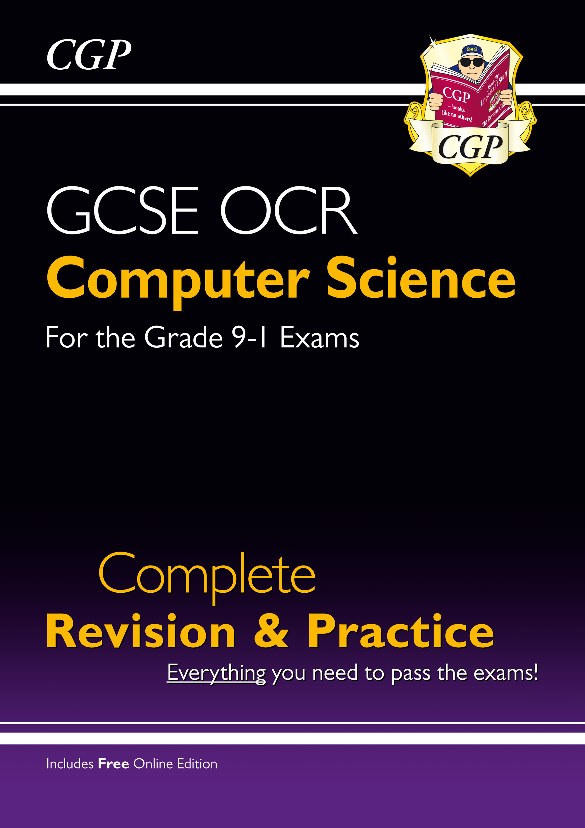 COS41 - New GCSE Computer Science OCR Complete Revision & Practice - Grade 9-1 (with Online Edition)