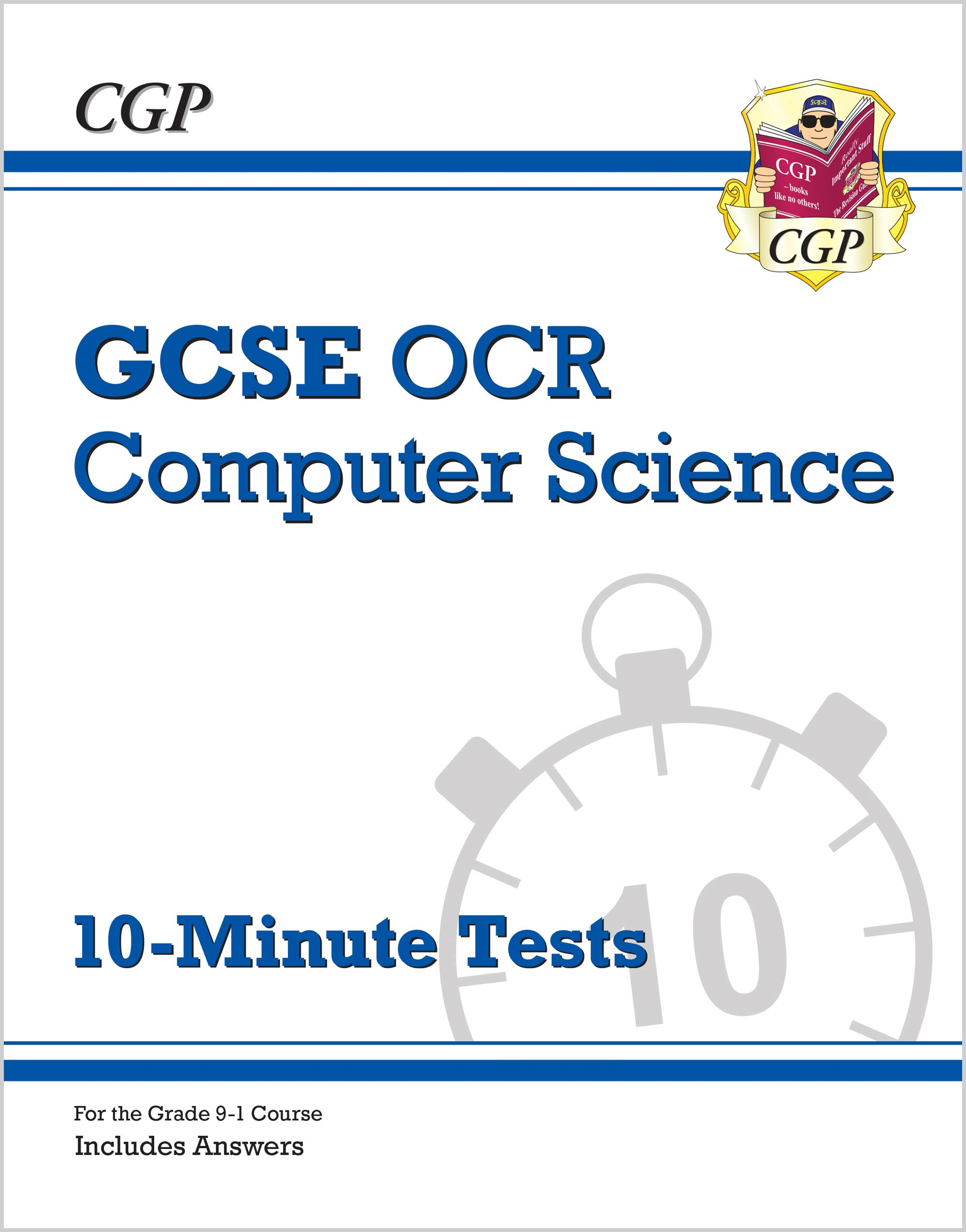 COXP41 - New Grade 9-1 GCSE Computer Science OCR 10-Minute Tests (includes Answers)