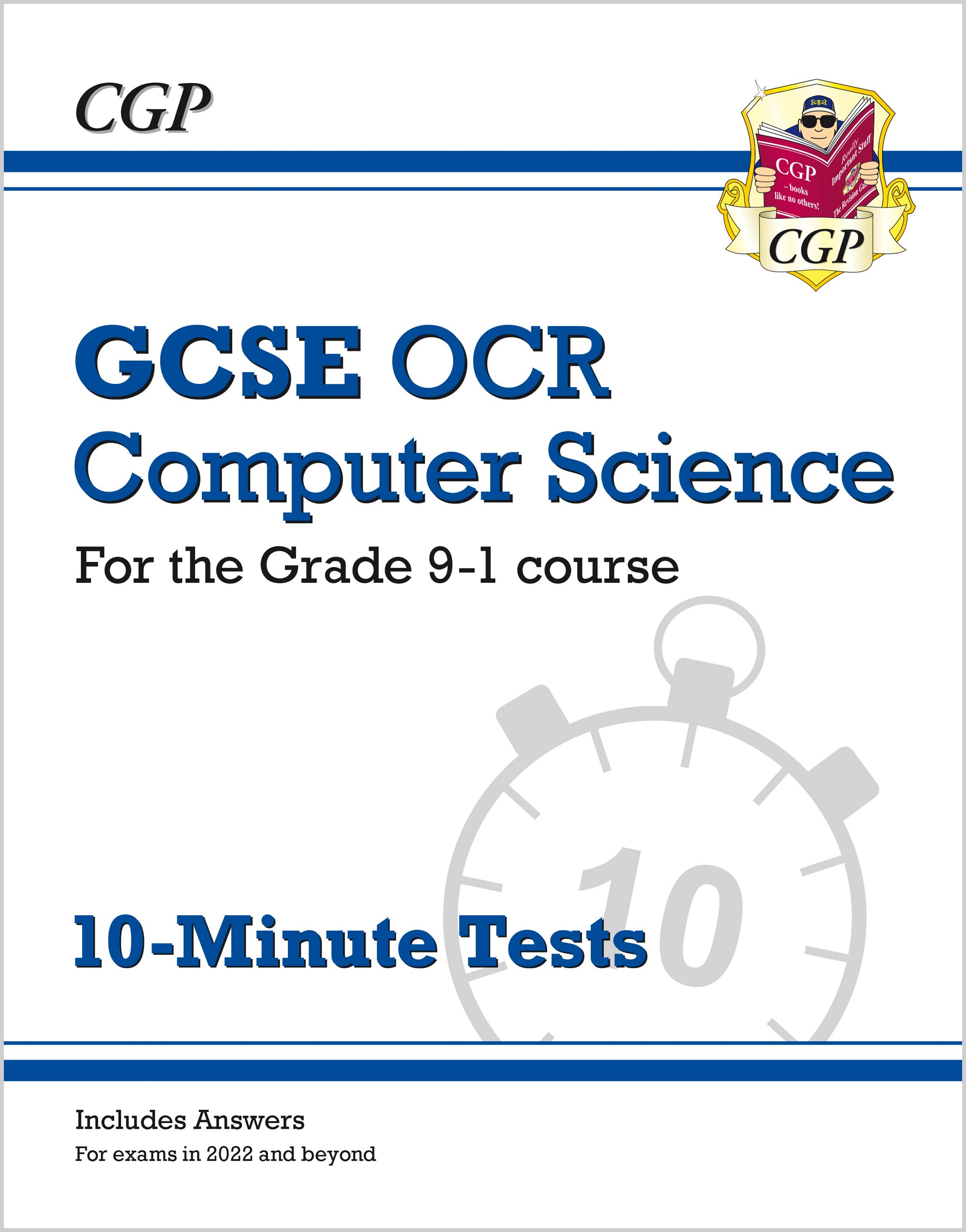 COXP42 - New GCSE Computer Science OCR 10-Minute Tests - for exams in 2022 and beyond (includes answ