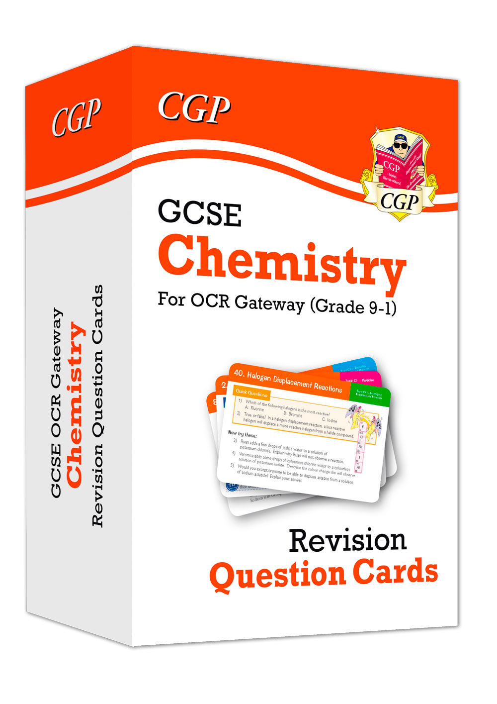 CRF41 - New 9-1 GCSE Chemistry OCR Gateway Revision Question Cards