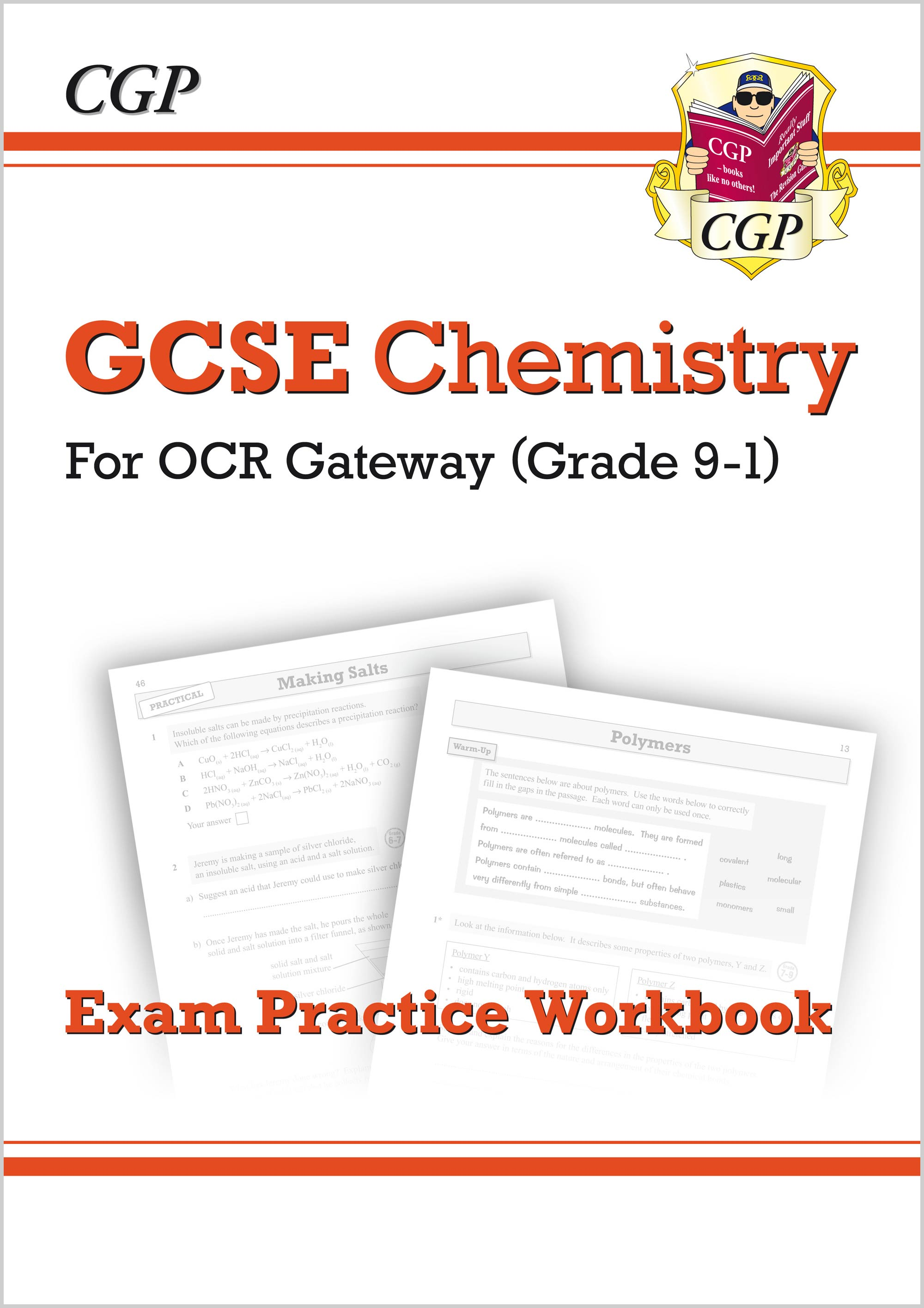 CRQ41 - New Grade 9-1 GCSE Chemistry: OCR Gateway Exam Practice Workbook