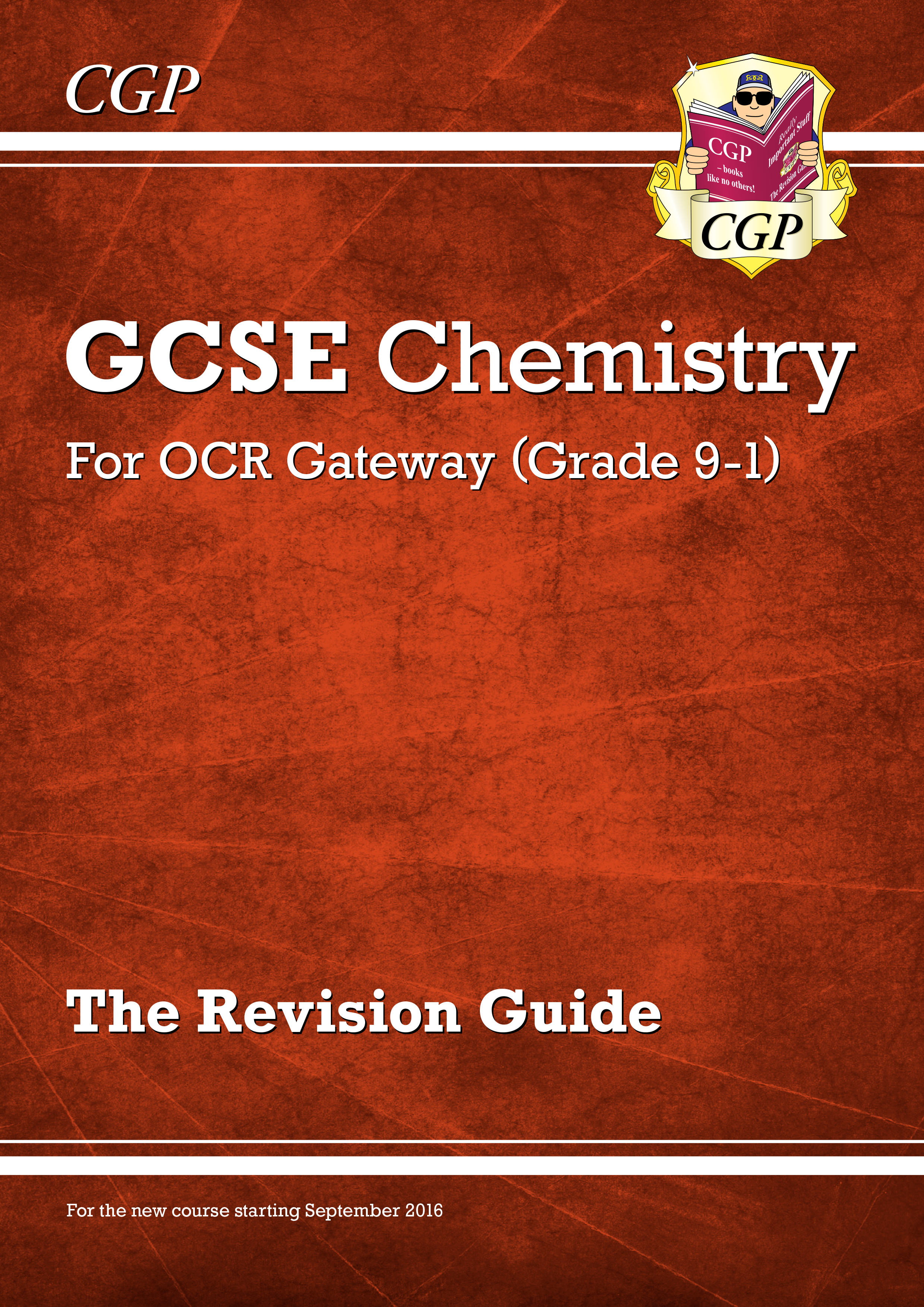 CRR45DK - New Grade 9-1 GCSE Chemistry: OCR Gateway Revision Guide