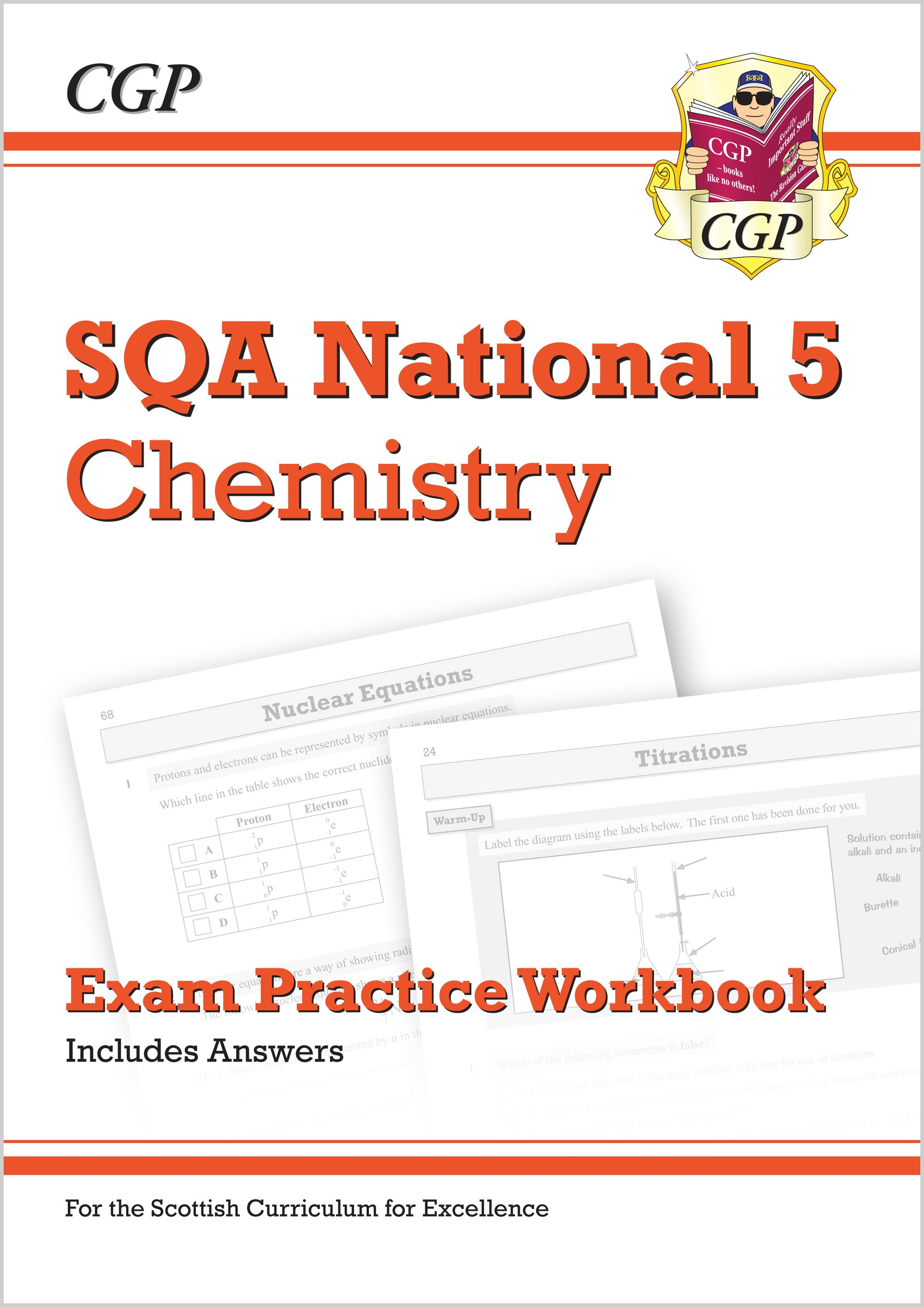 CZQ41 - National 5 Chemistry: SQA Exam Practice Workbook - includes Answers