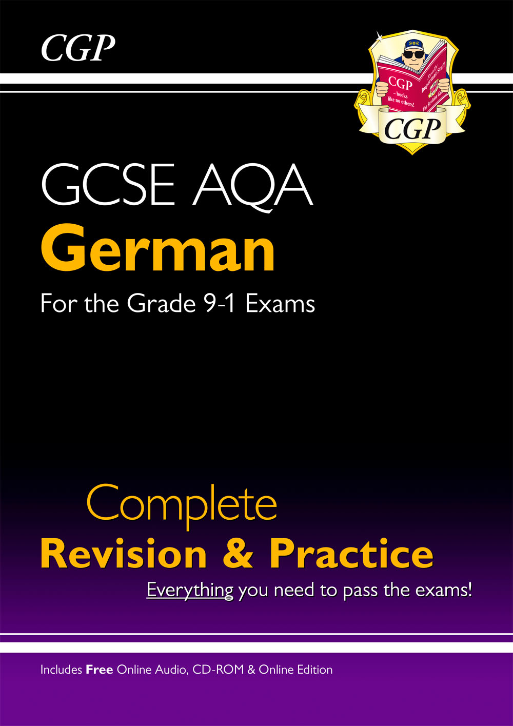 DAS41 - GCSE German AQA Complete Revision & Practice (with CD & Online Edition) - Grade 9-1 Course