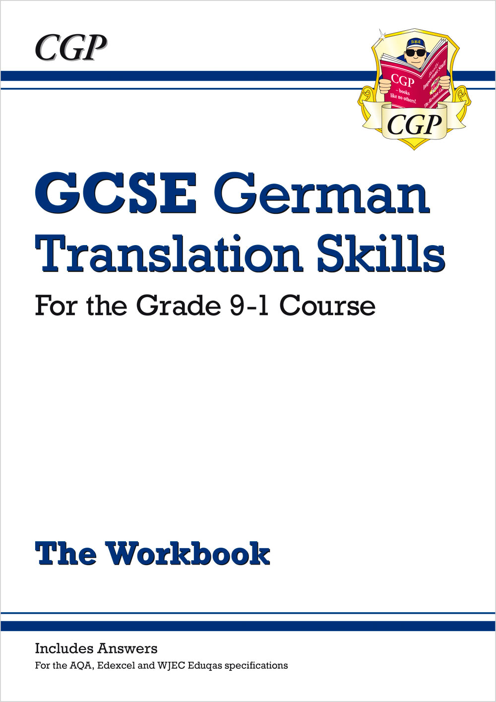 DTW41 - New Grade 9-1 GCSE German Translation Skills Workbook (includes Answers)