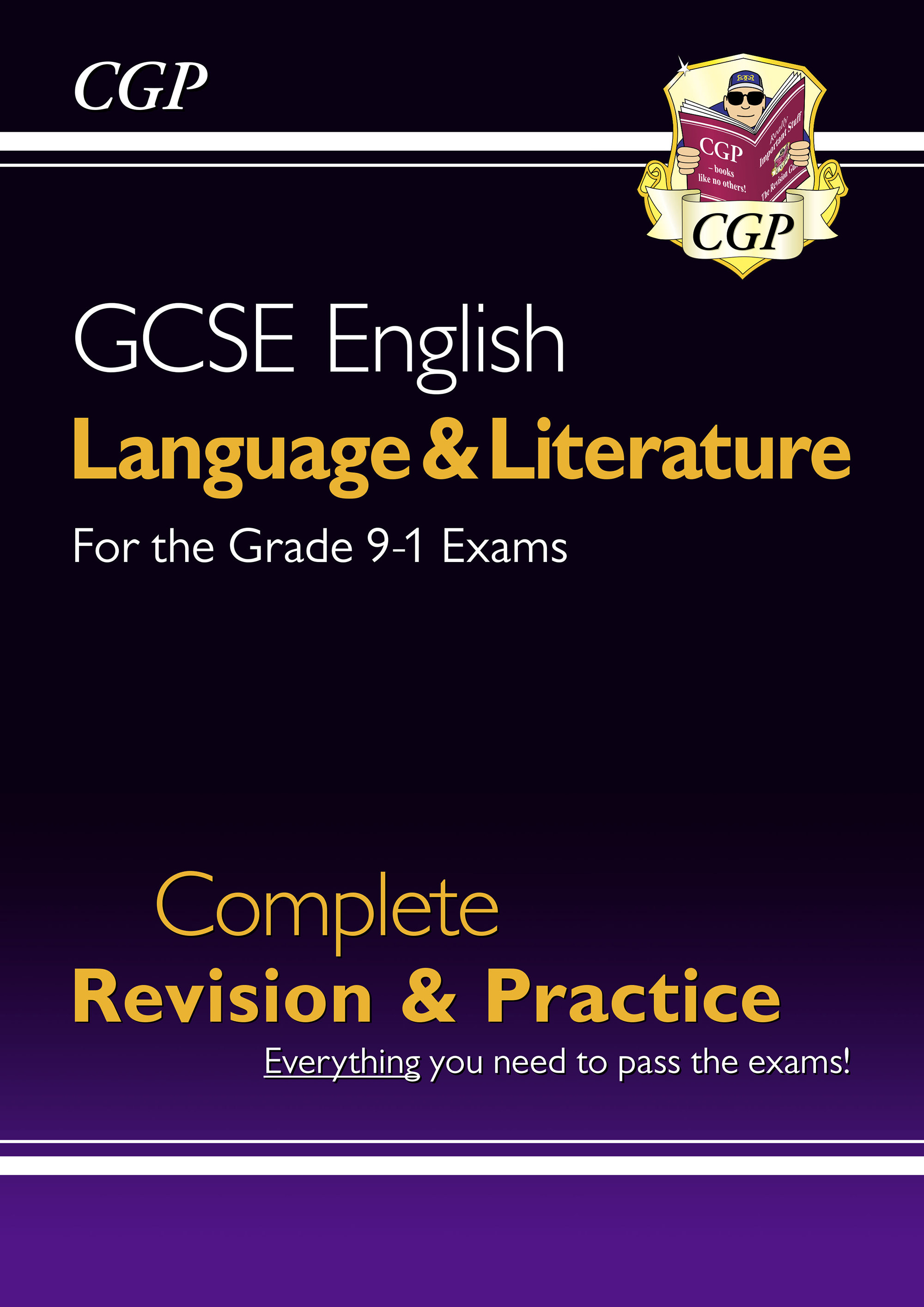 EHS45DK - GCSE English Language and Literature Complete Revision & Practice - for the Grade 9-1 Cour