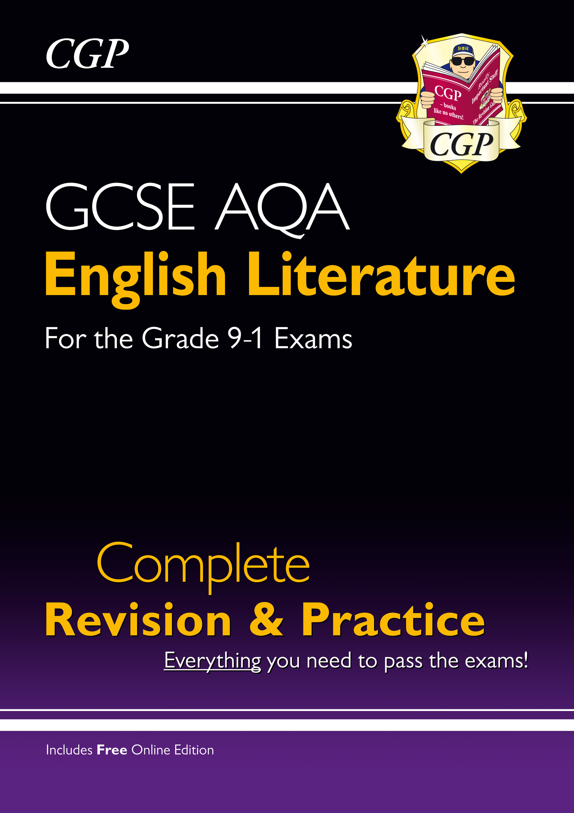 ELAS41 - New GCSE English Literature AQA Complete Revision & Practice - Grade 9-1 (with Online Editi
