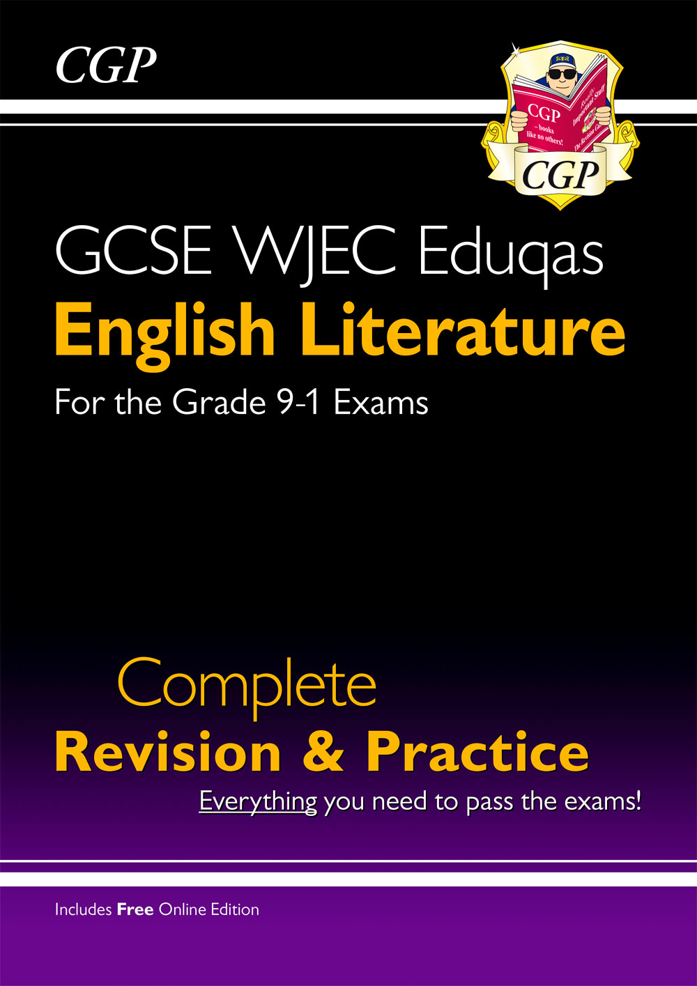 ELWS41 - New Grade 9-1 GCSE English Literature WJEC Eduqas Complete Revision & Practice (with Online